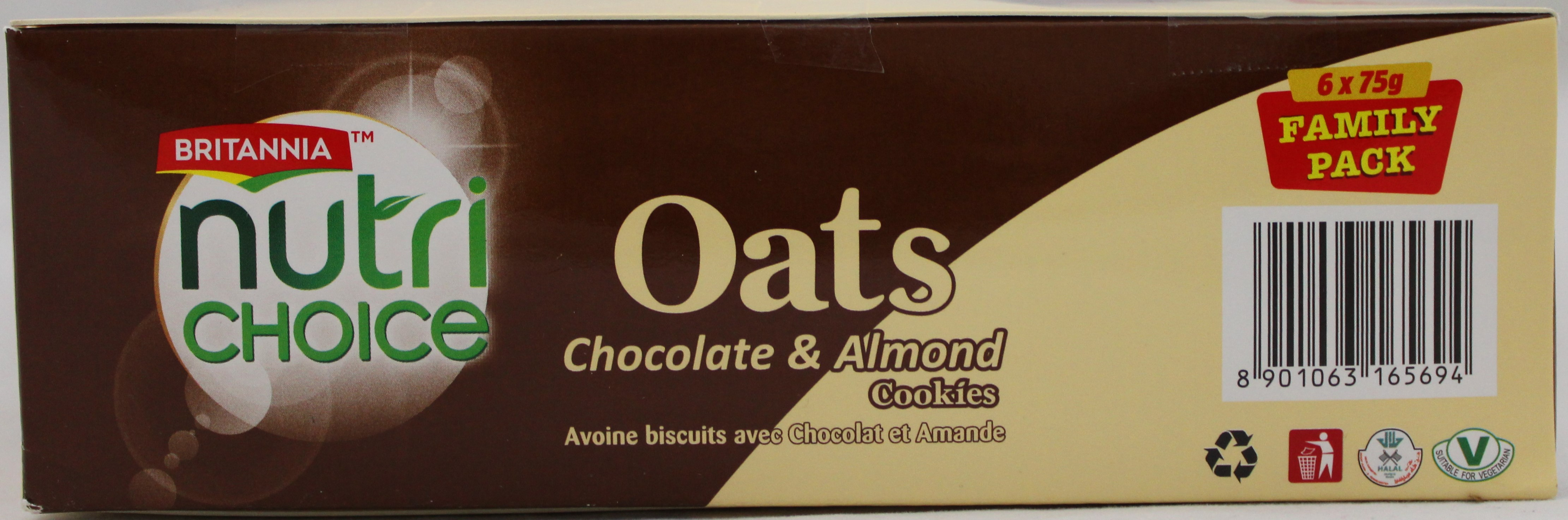 Nutrichoice Oats-Choco&Almond2.65Oz