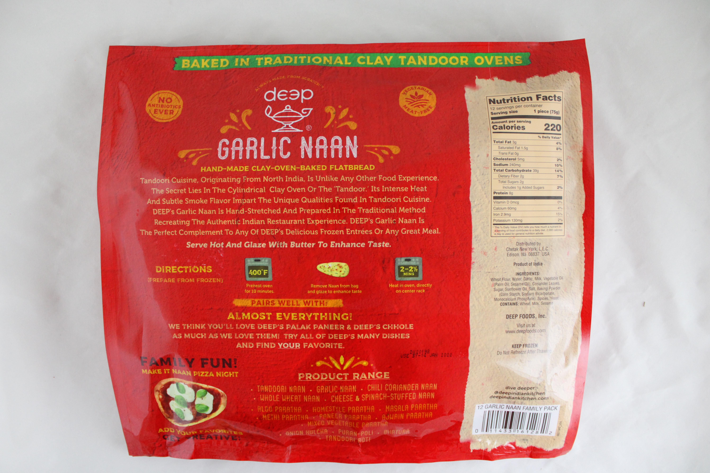 FamilyPack Garlic Naan 31.7oz(12Pc)
