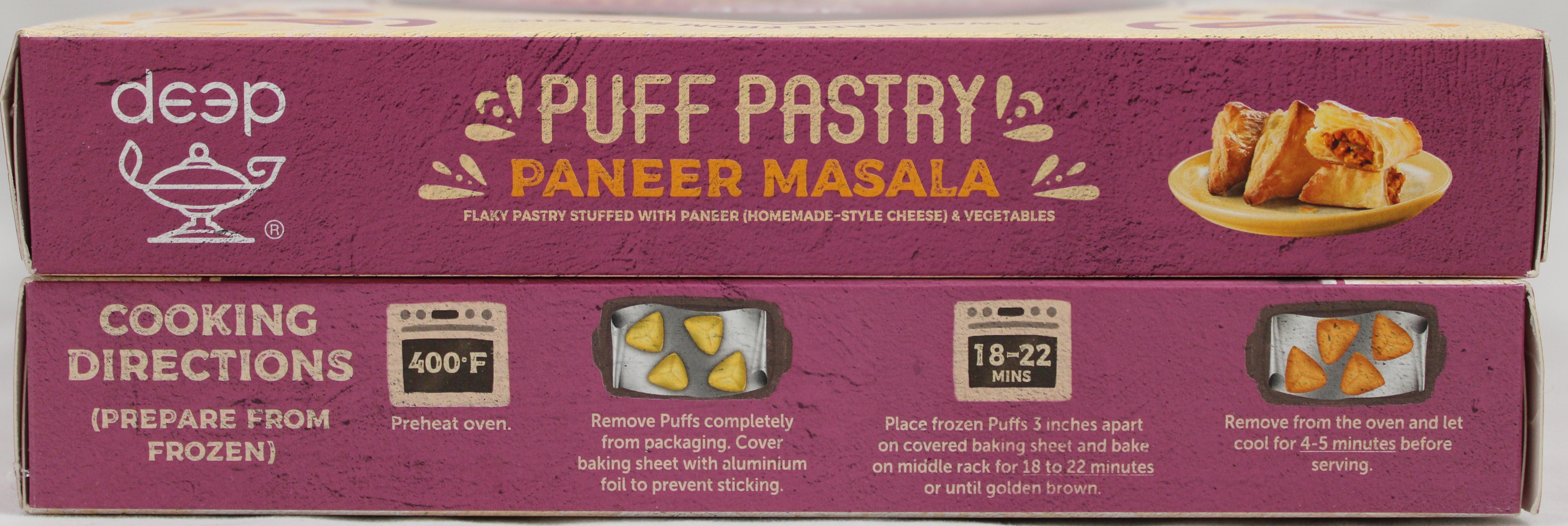 Paneer Masala Puff (6 pcs) 12.7 Oz