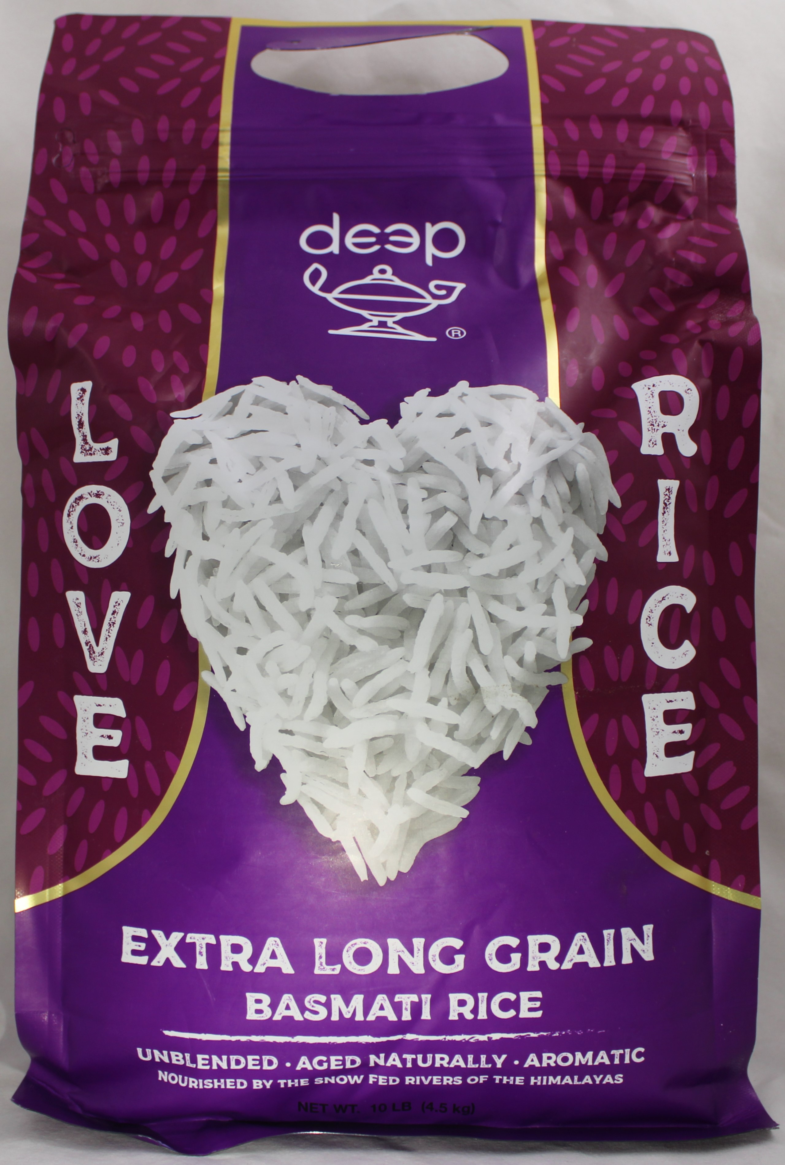 Extra Long Grain Basmati Rice 10 LB