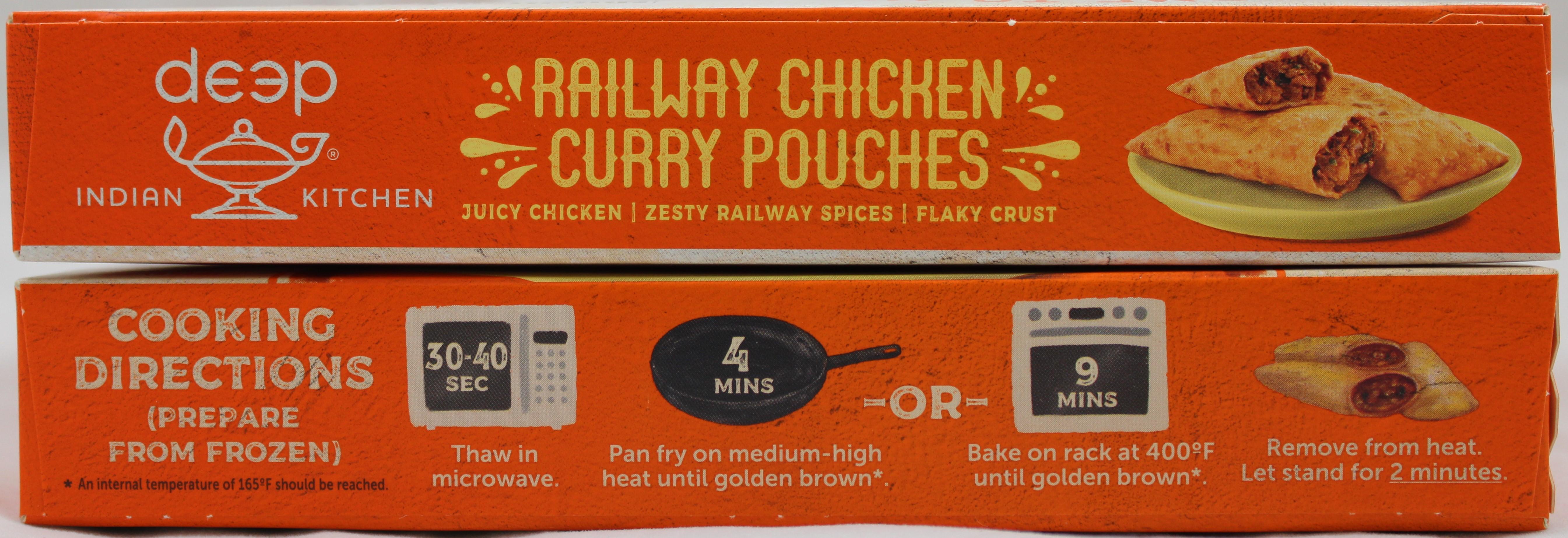 Railway Chicken Curry Kati Pkt 8oz.