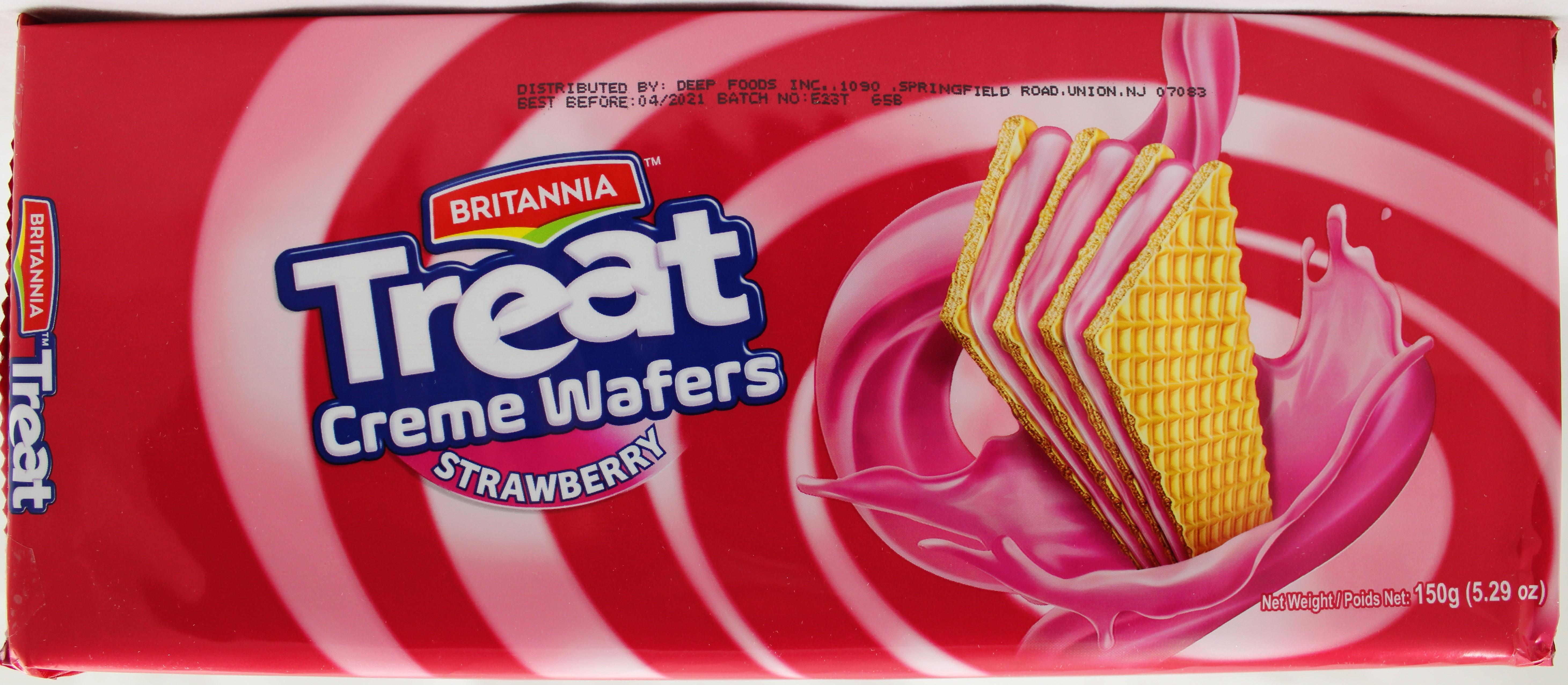 Treat Strawberry cream wafers5.29Oz