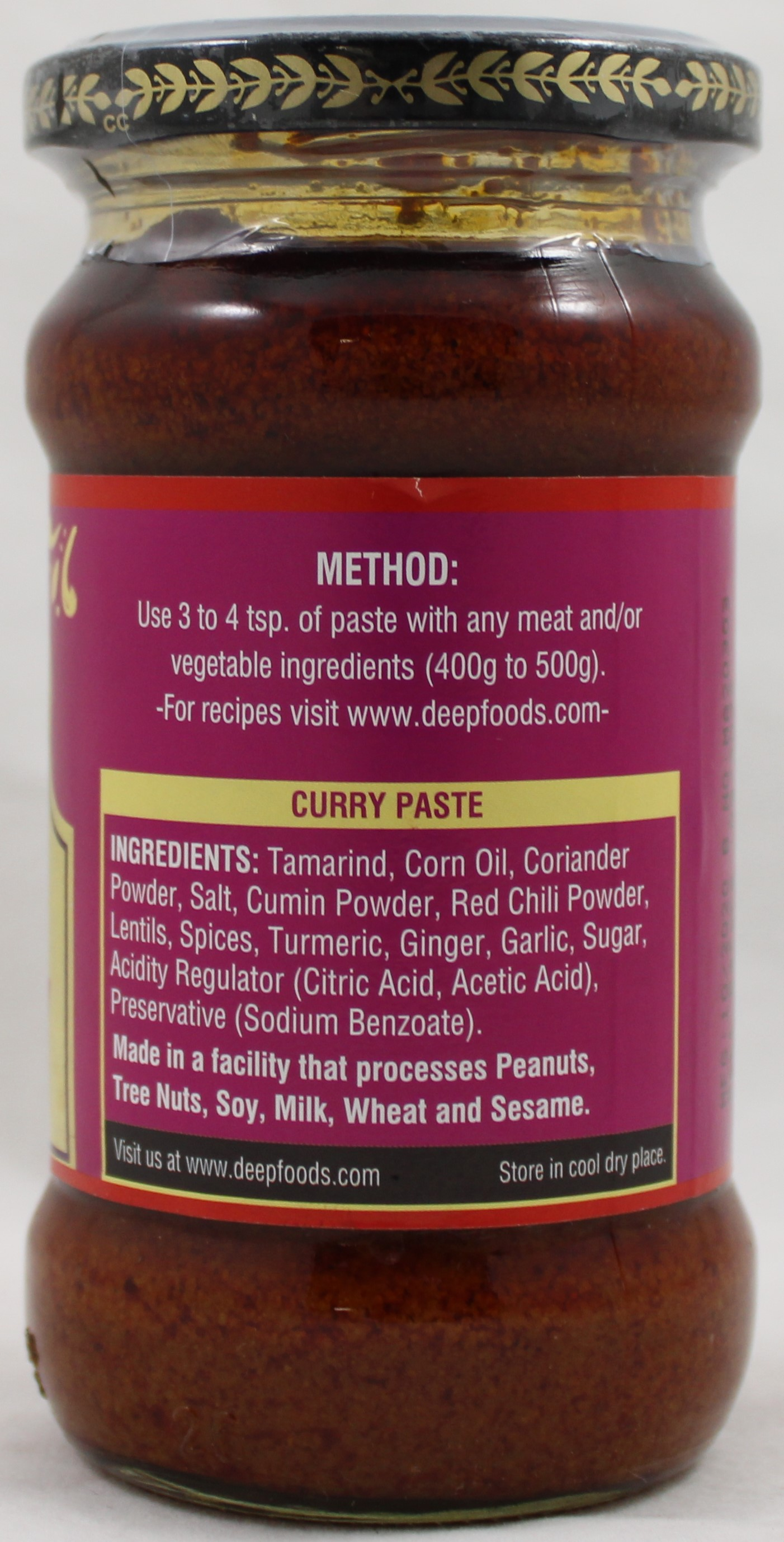 Curry Paste 10oz