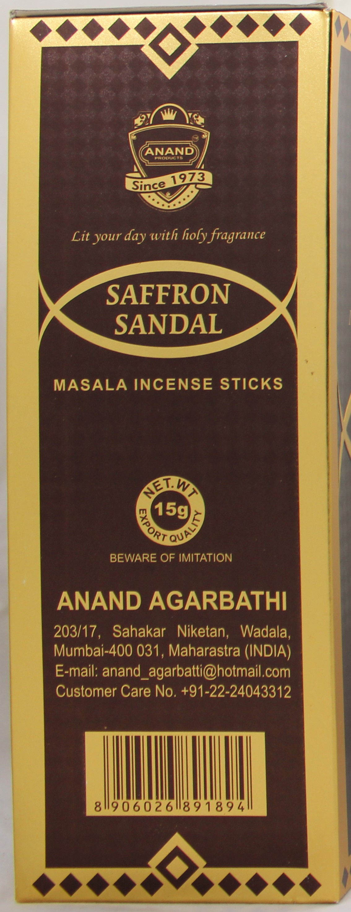 Saffron Sandal 24Doz