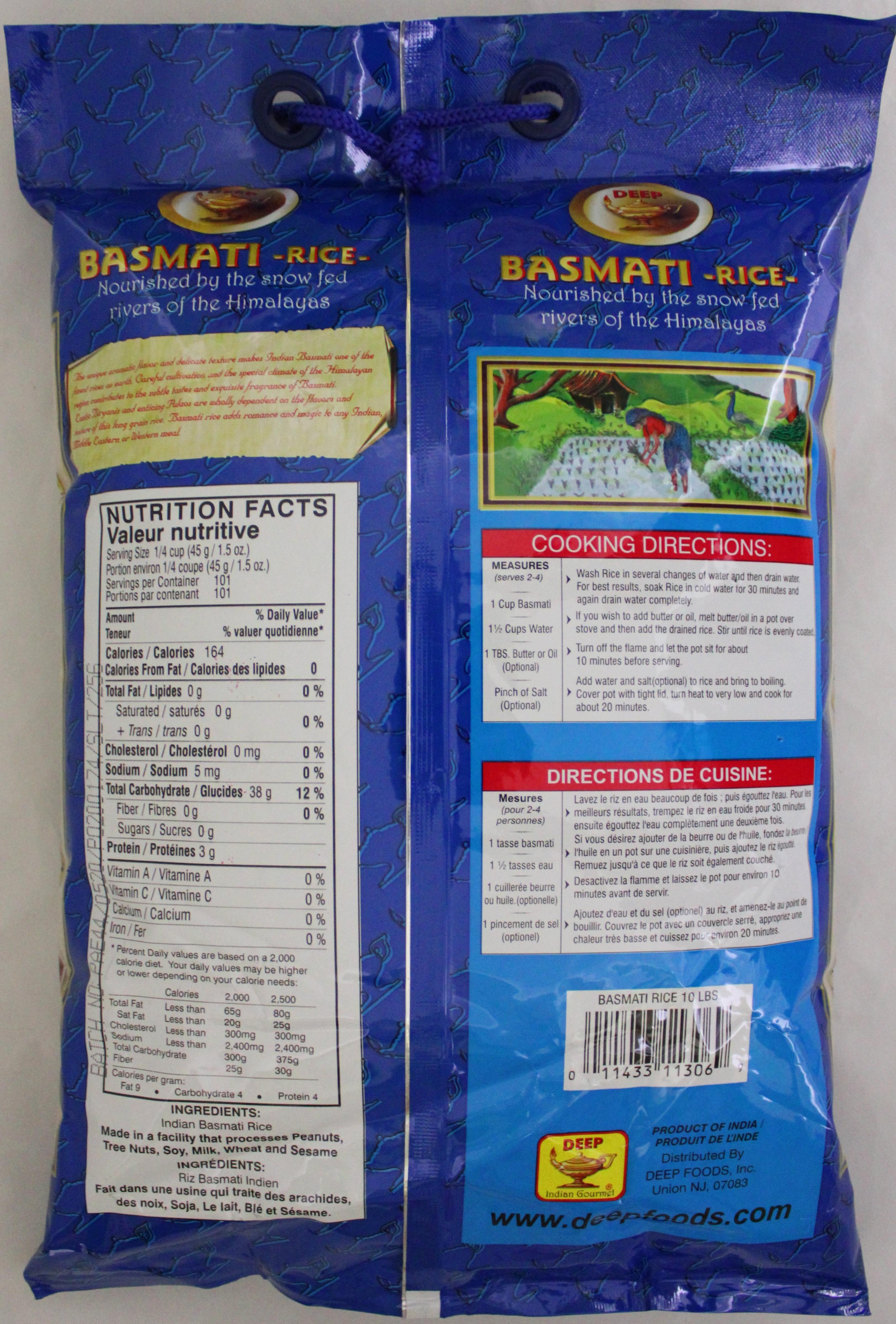 Basmati Rice 10 lbs