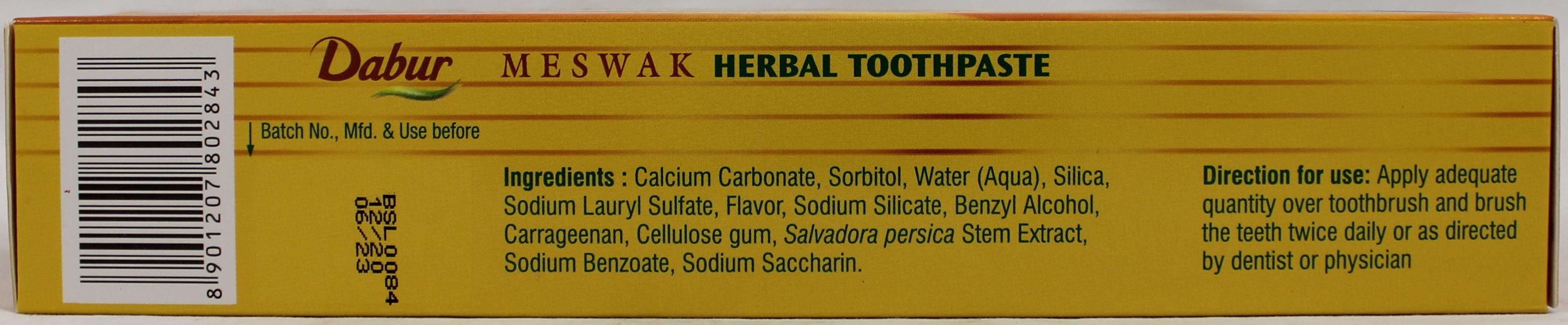 Meswak Toothpaste 7oz