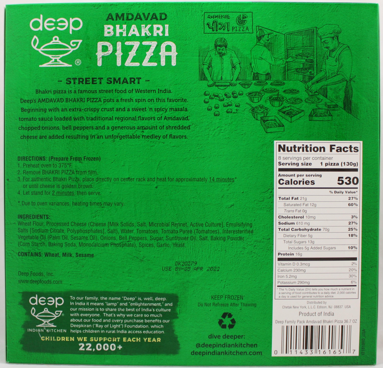 FP Amdavad Bhakri Pizza - 8 PCS