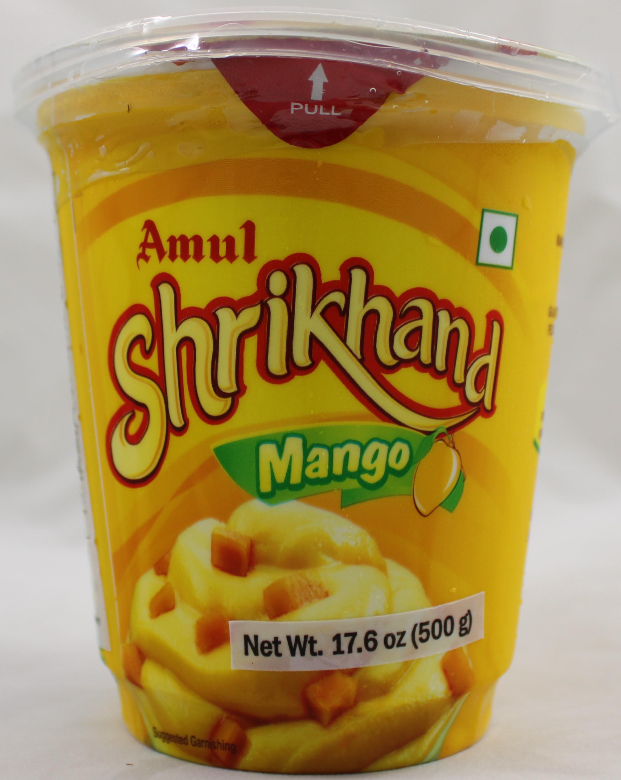 Mango Shrikhand 16Oz