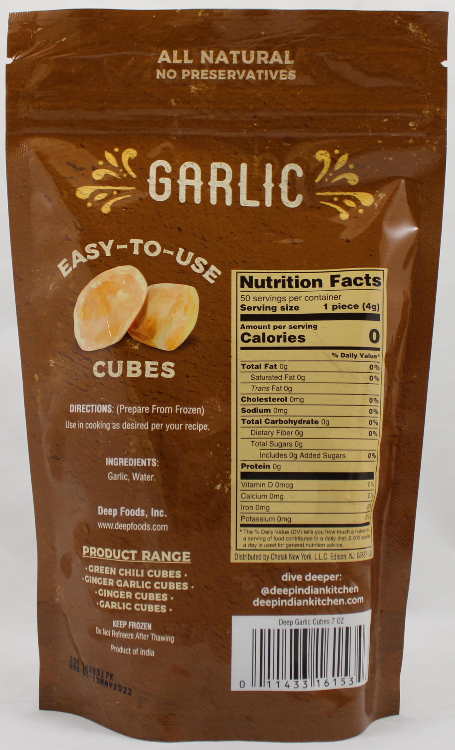 Garlic Cubes 7 Oz