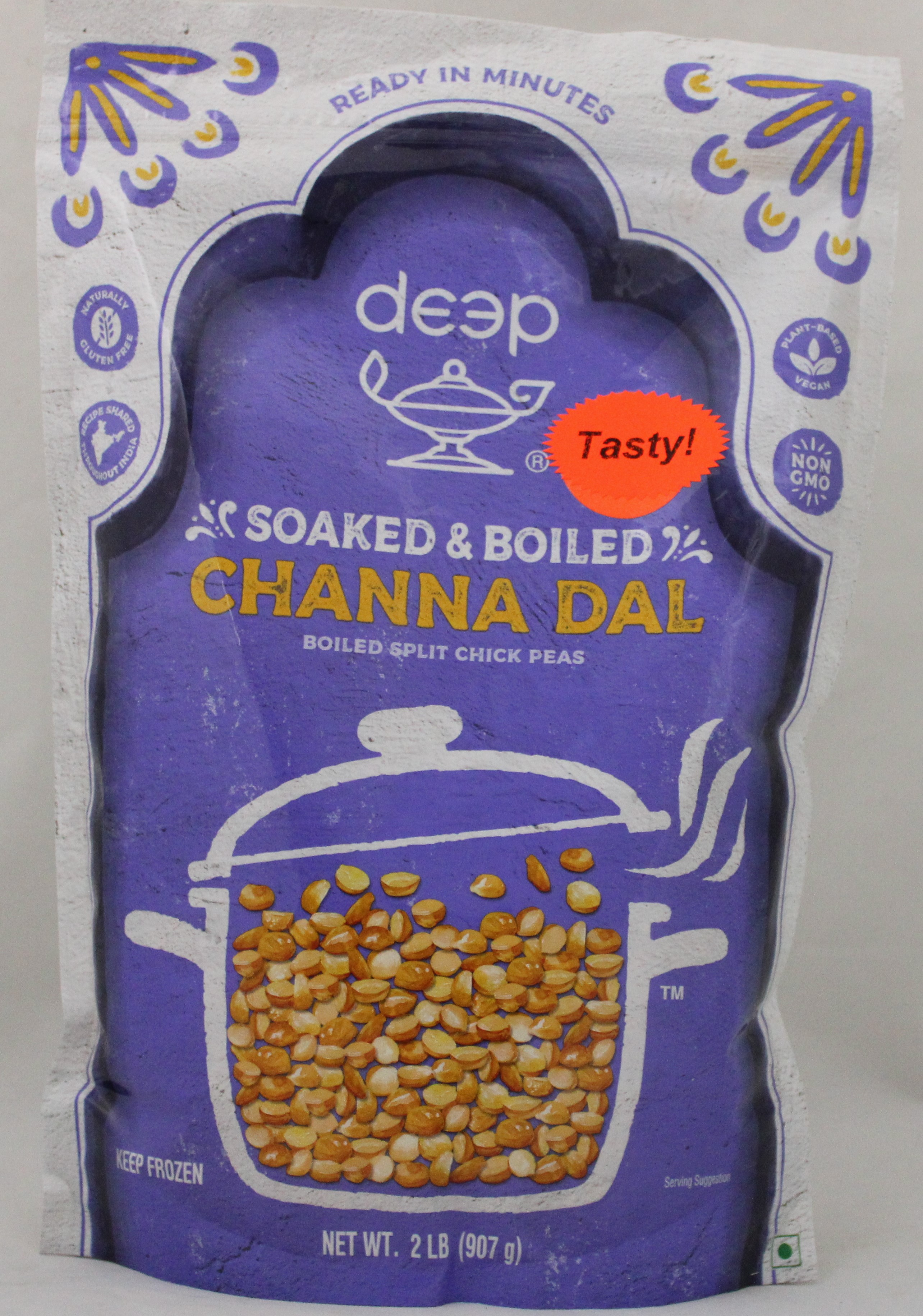 Soaked&Boiled Channa Dal-ReadyInMin