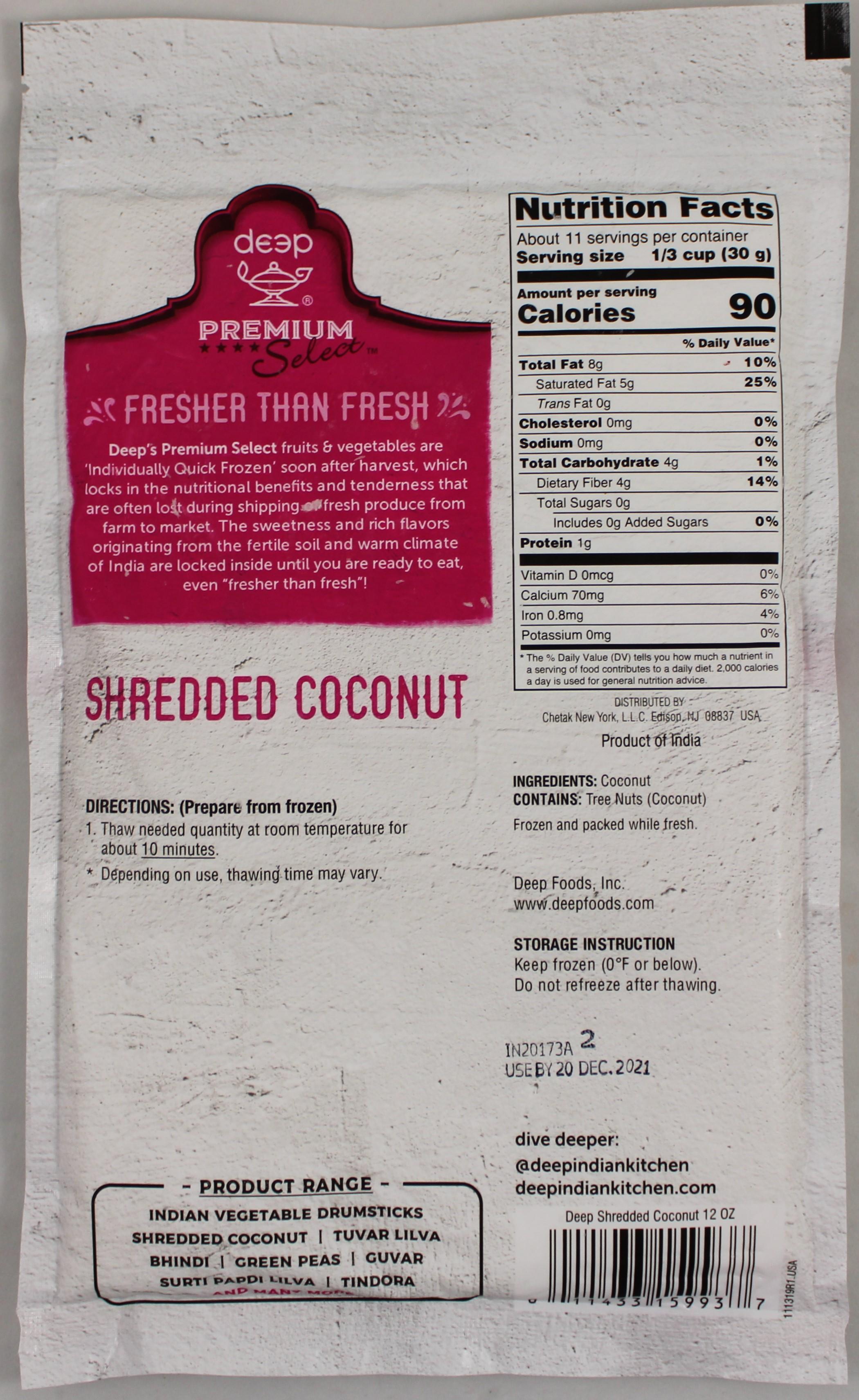 Shredded Coconut 12oz