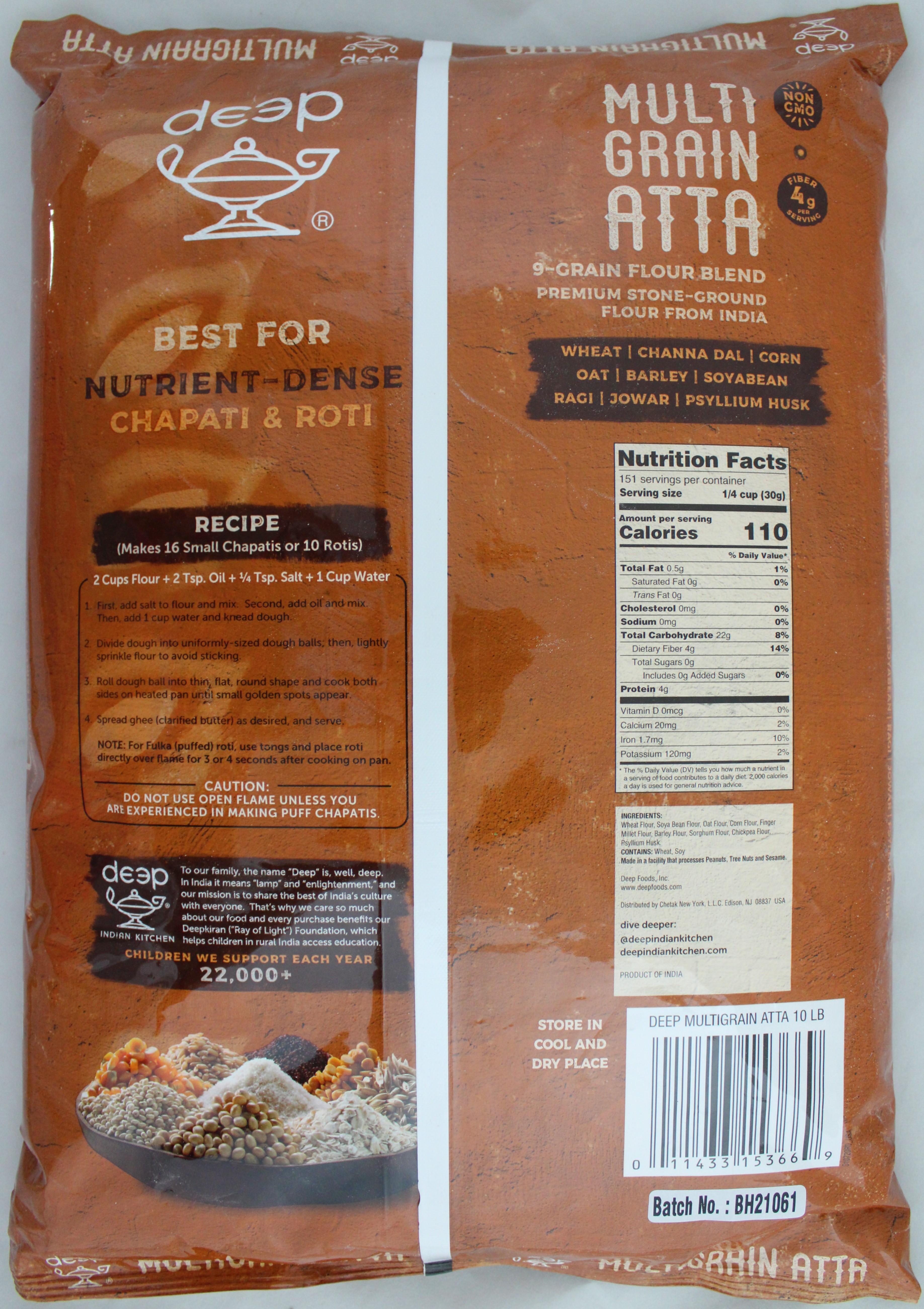Multi Grain Flour 10lb