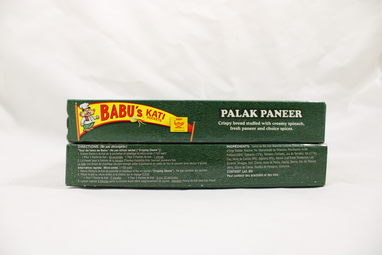 Palak Paneer 2 Pocket Snndwch 8oz