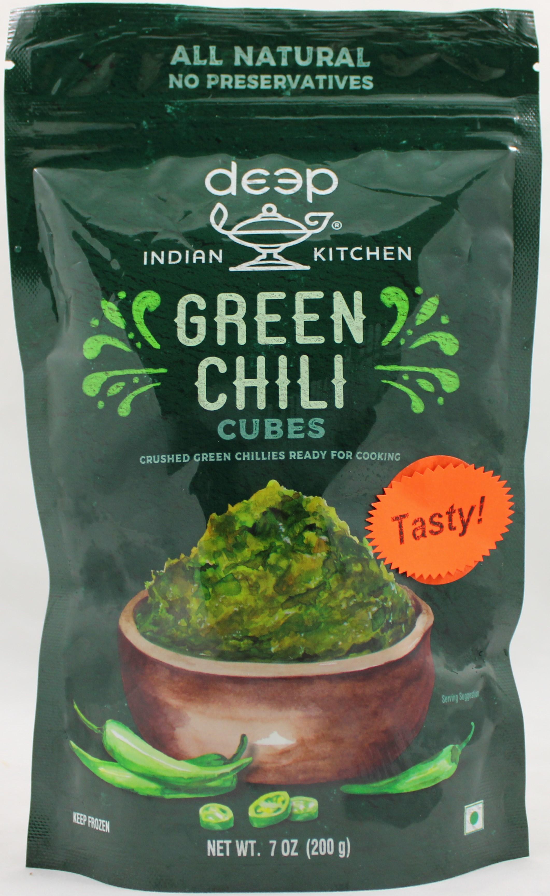 Green Chili Cubes 7 Oz
