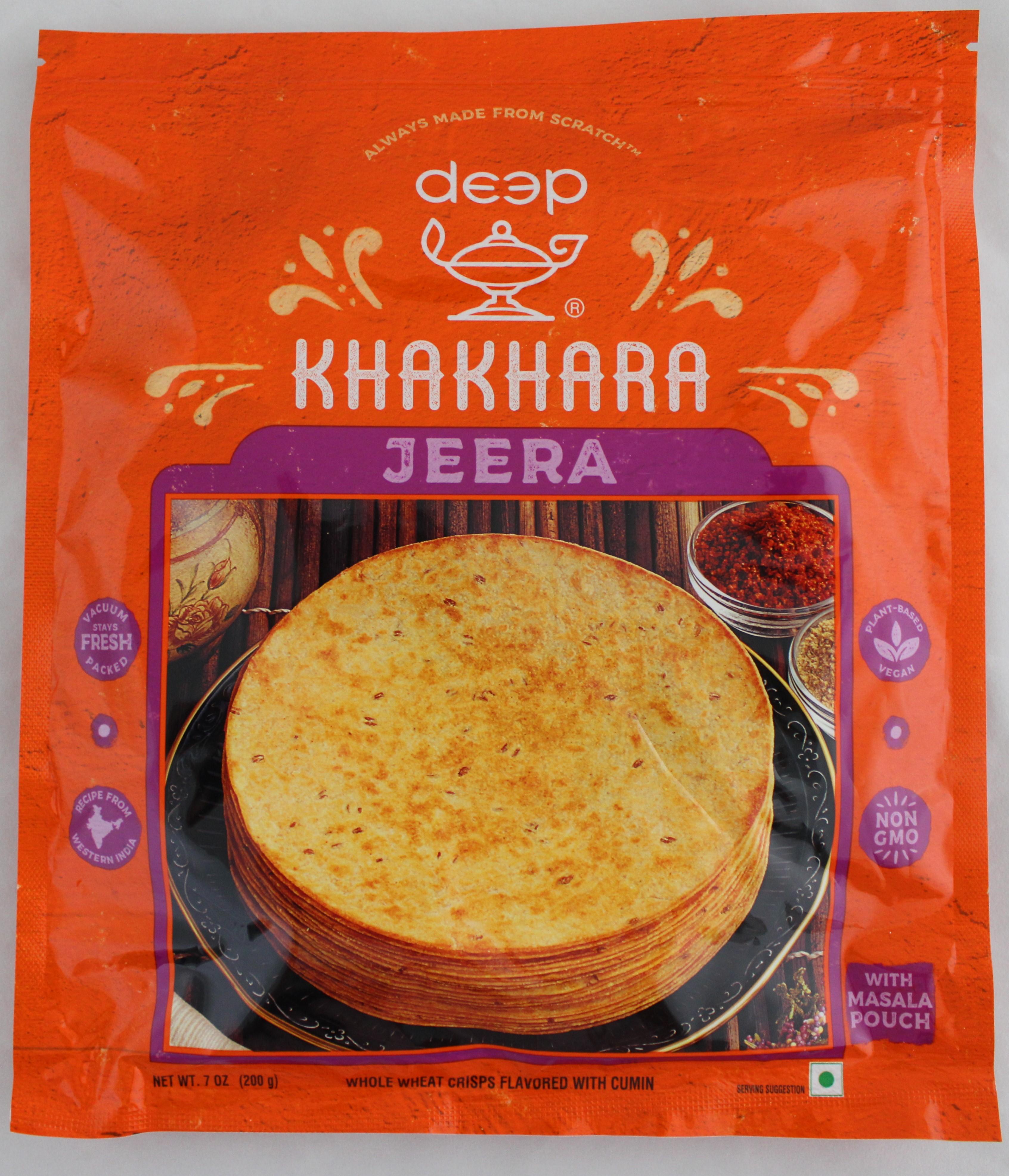 Indian Grocery - Jeera Khahkhra 7 oz.