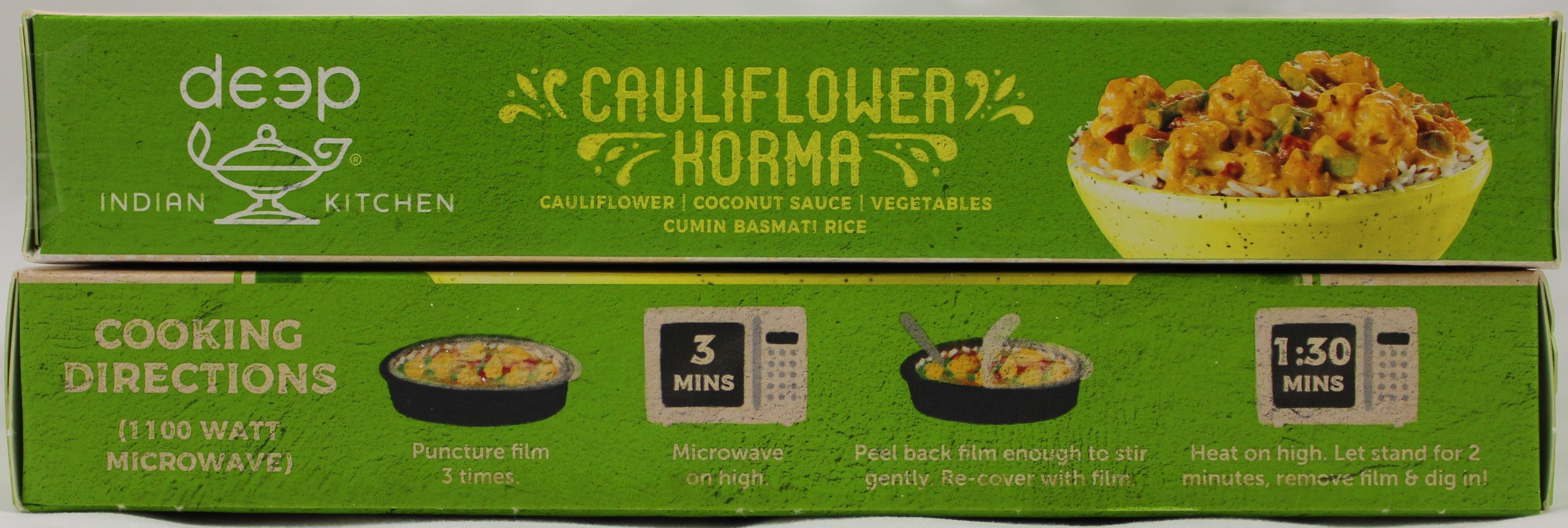 Cauliflower Korma W Cumin Ric 10 oz