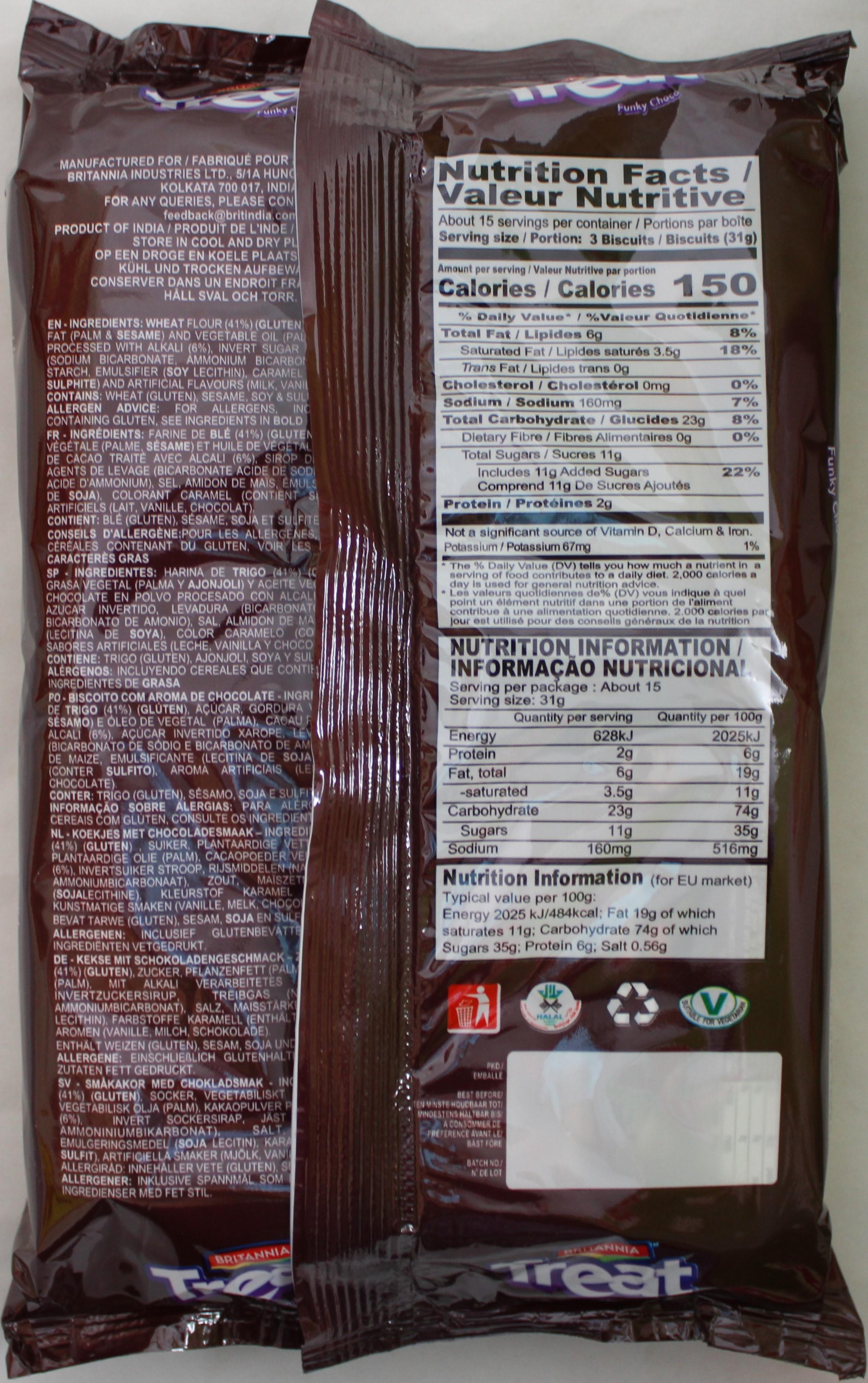 Treat Funky Choco 16.93Oz(1.4oz*12)