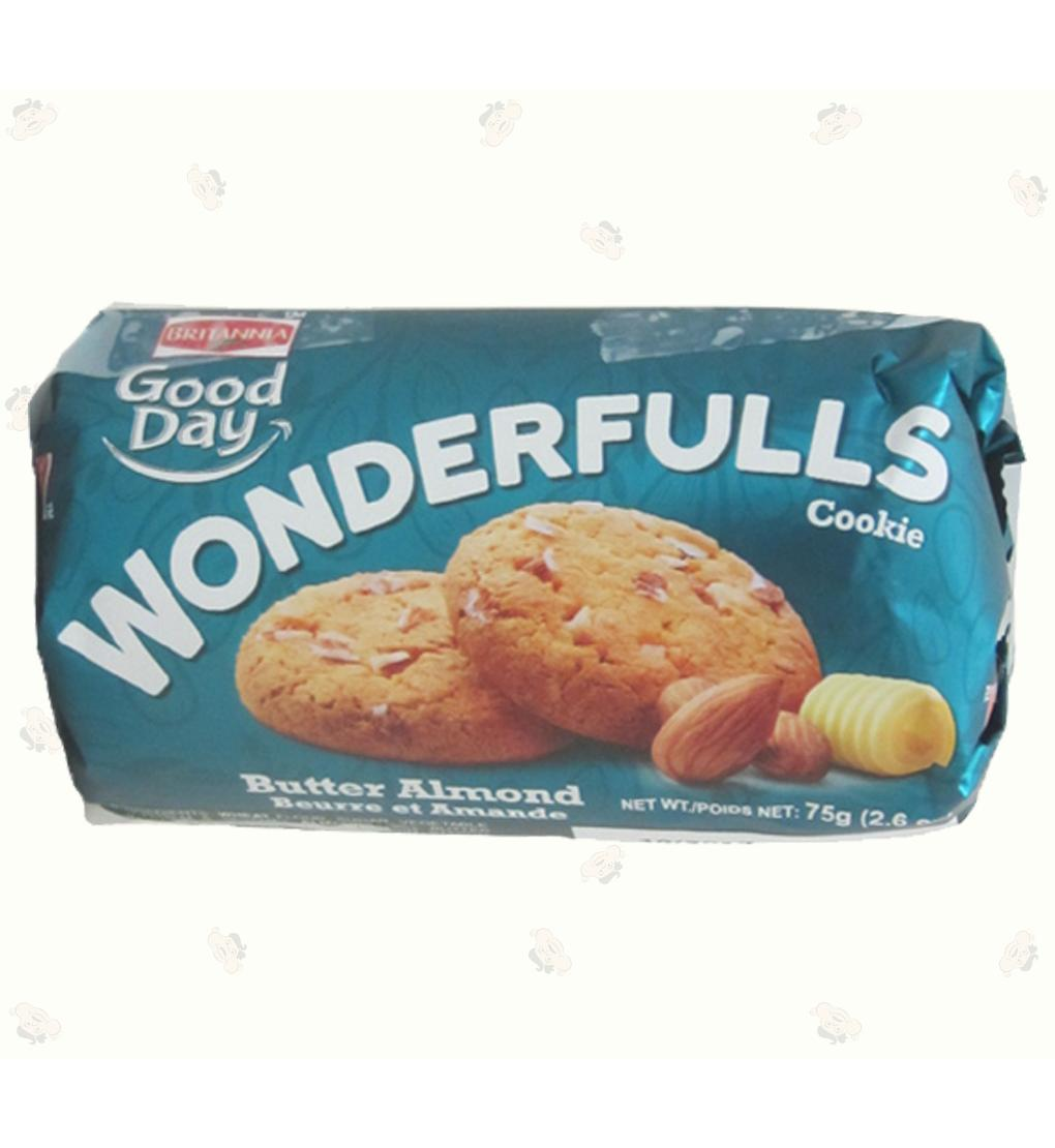 GD Wonderfulls Butter&Almond 2.6oz