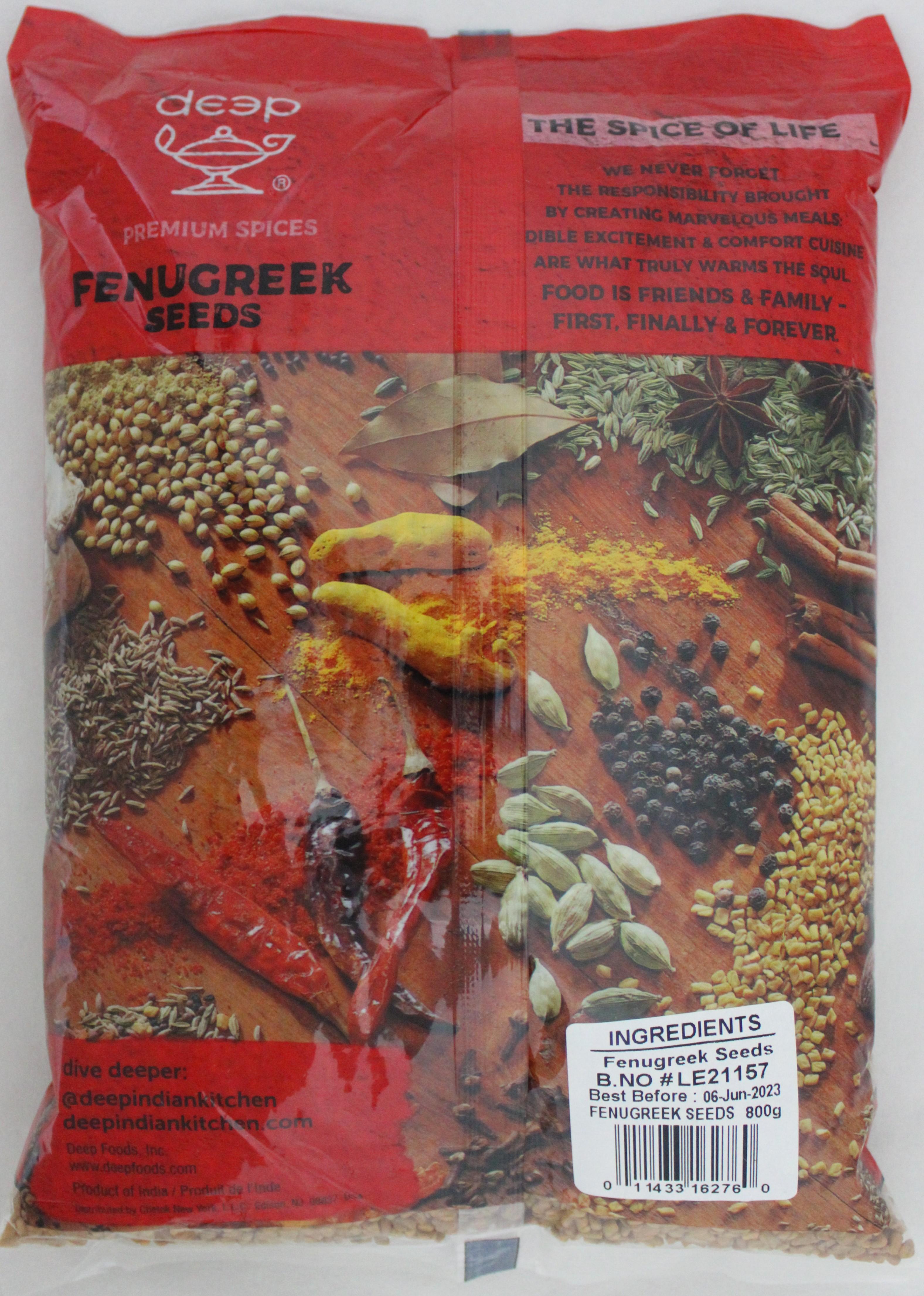 Fenugreek Seeds 28.2 Oz