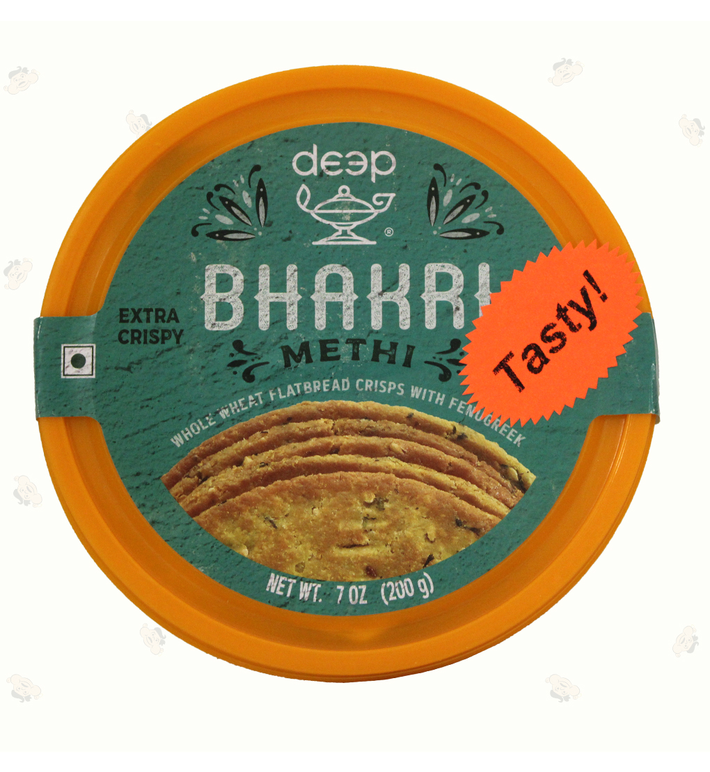 Methi Bhakri 7Oz
