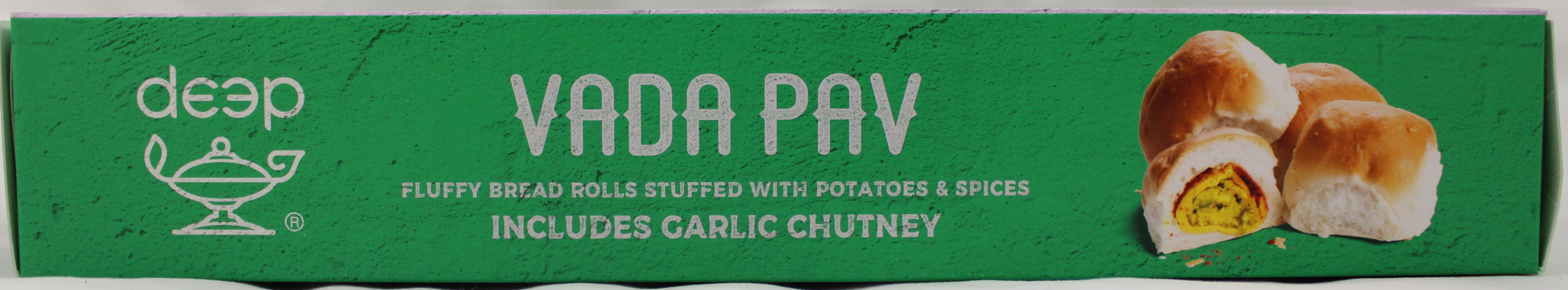 Vada Pav With Chutney (8pc)18 Oz