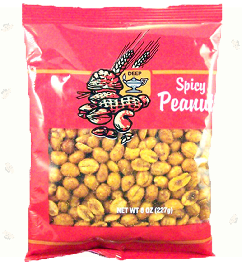 Indian Grocery - Peanut Spicy 8oz.
