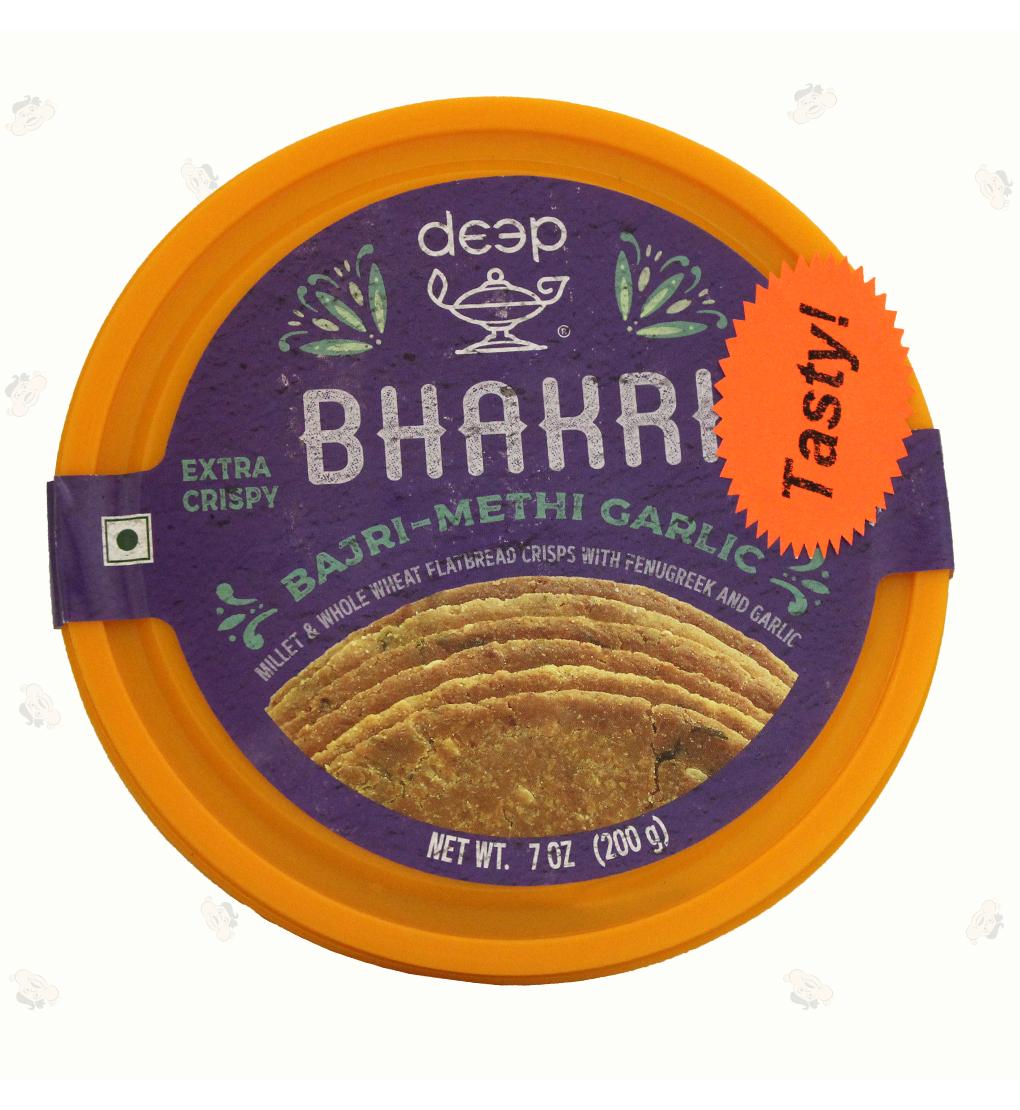Bajri Methi Garlic Bhakri 7Oz