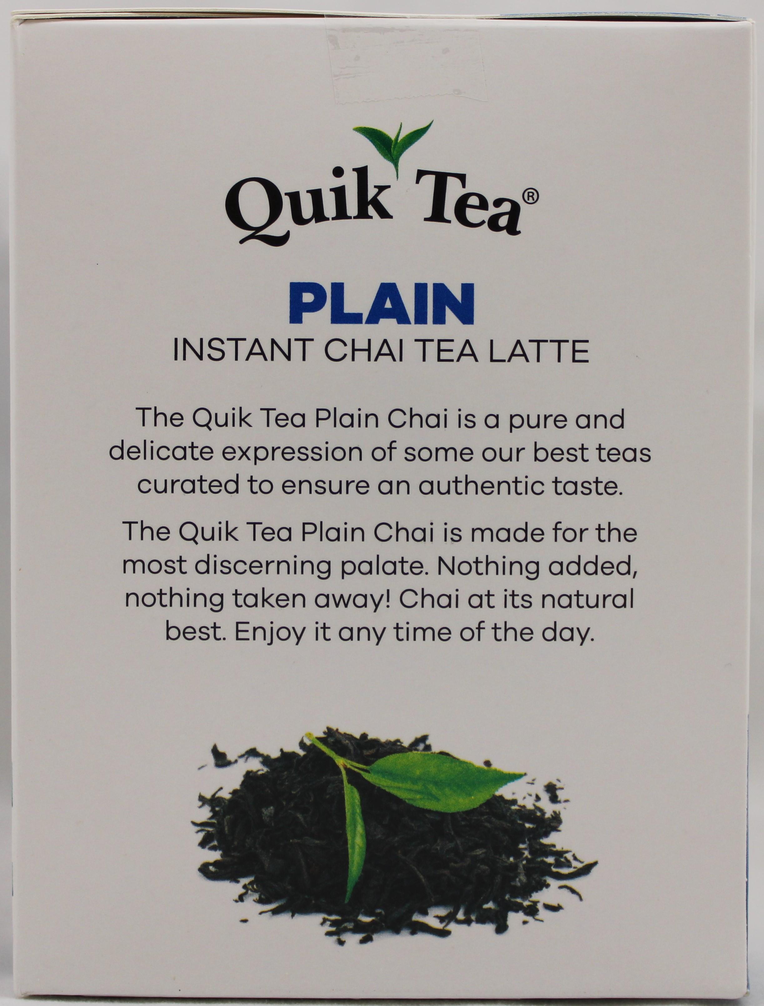 Plain Chai 17 oz.