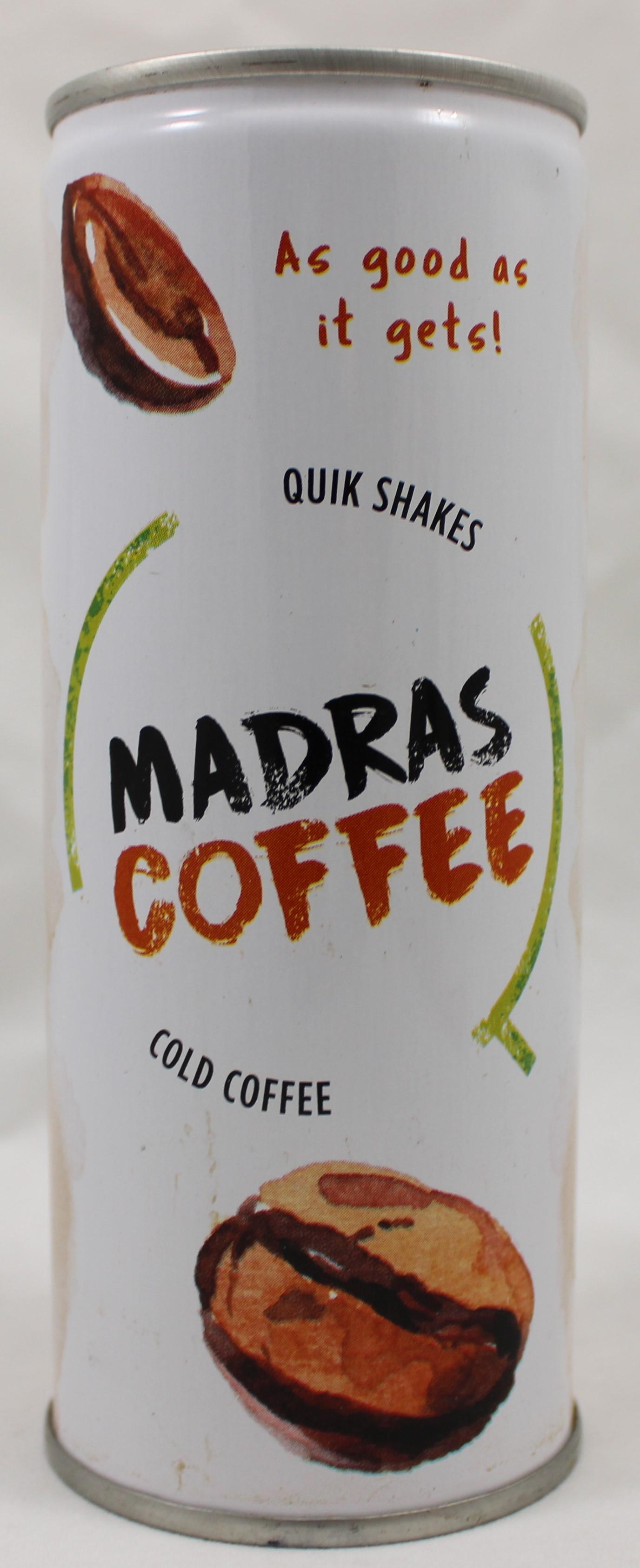 Madras Coffee Shakes 8Floz
