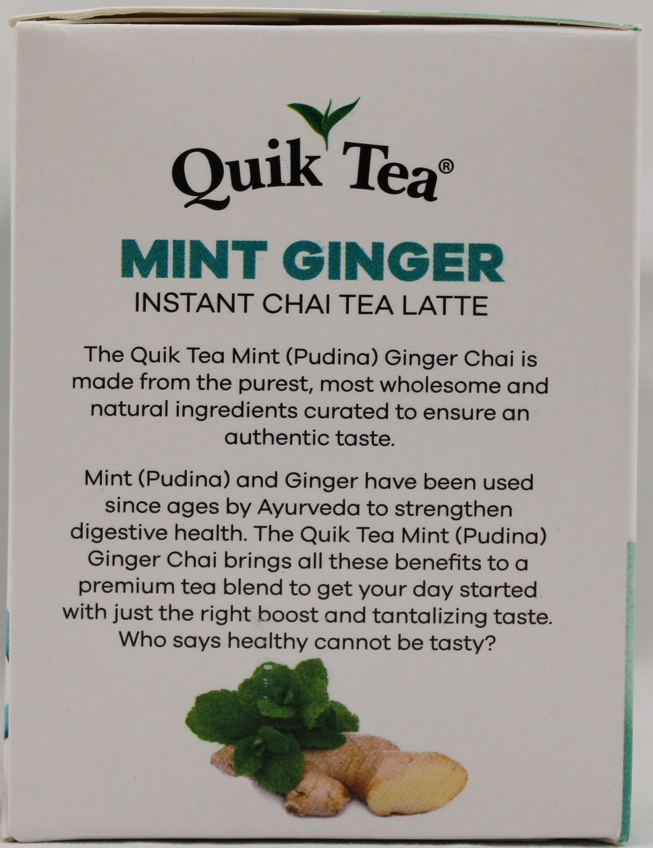 Mint Ginger Chai 8.5OZ