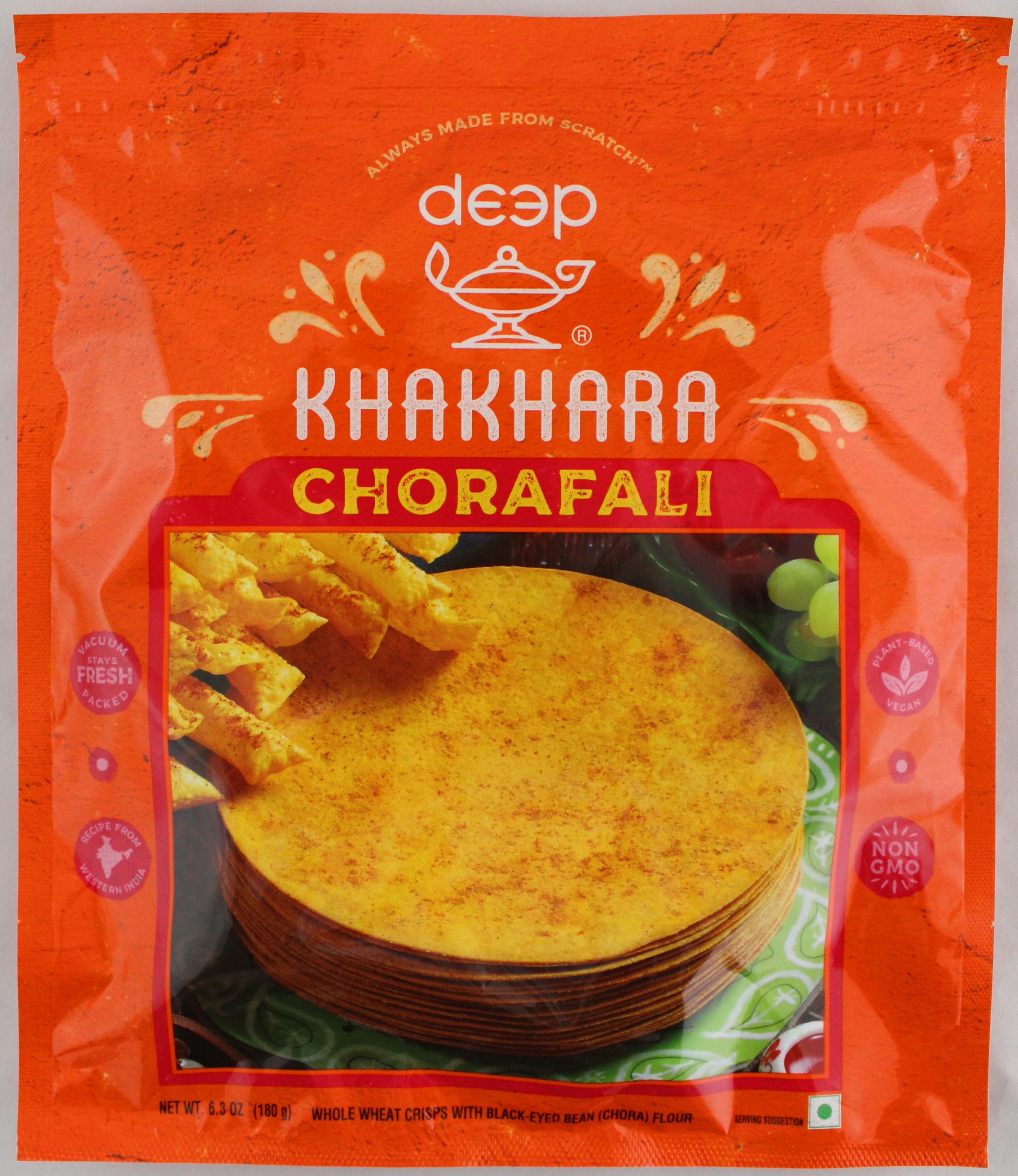 Cholafali Khakhra 6.3 oz