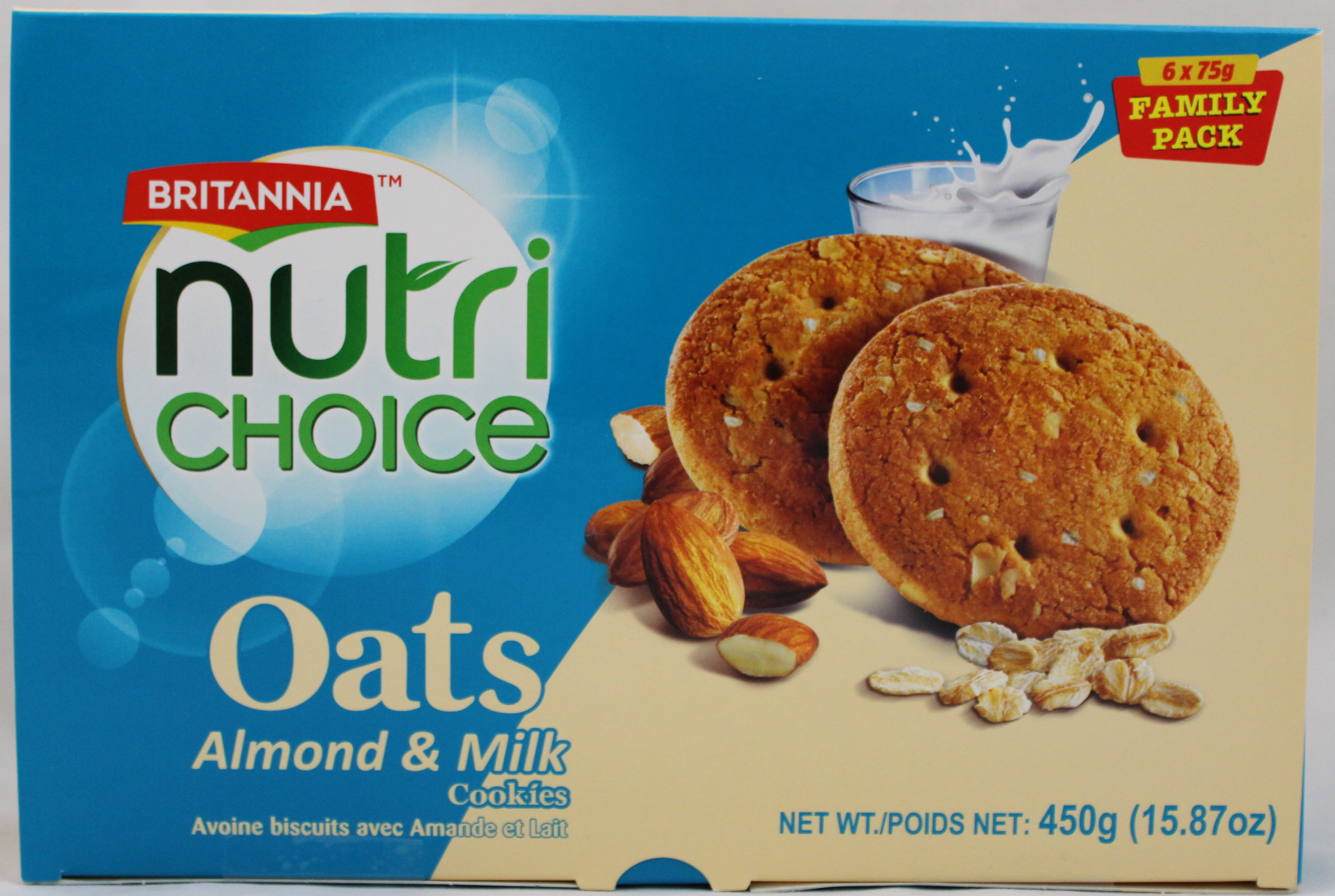 Nutrichoice Oats-Almond&Milk2.65Oz