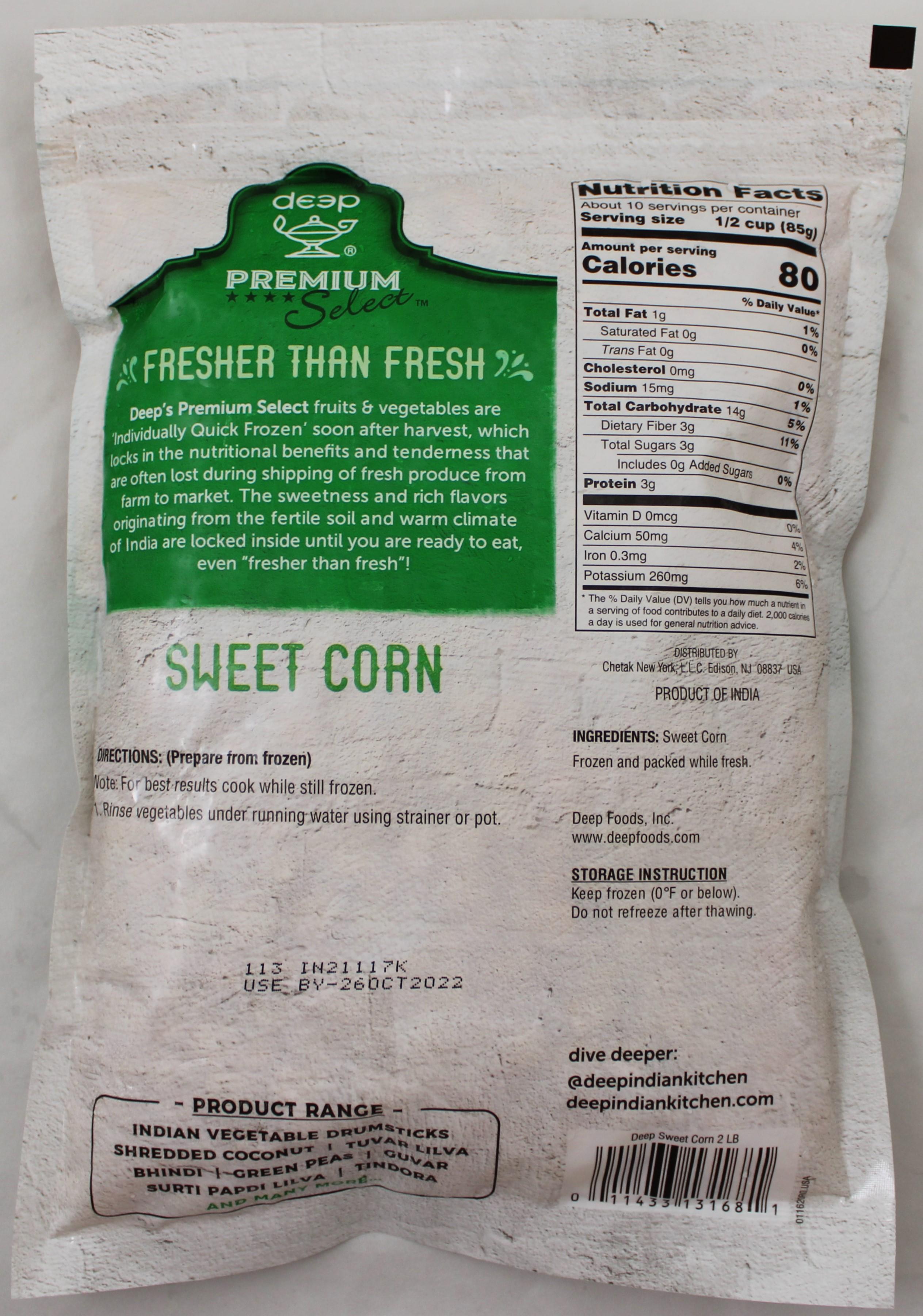 Sweet Corn  2 lb