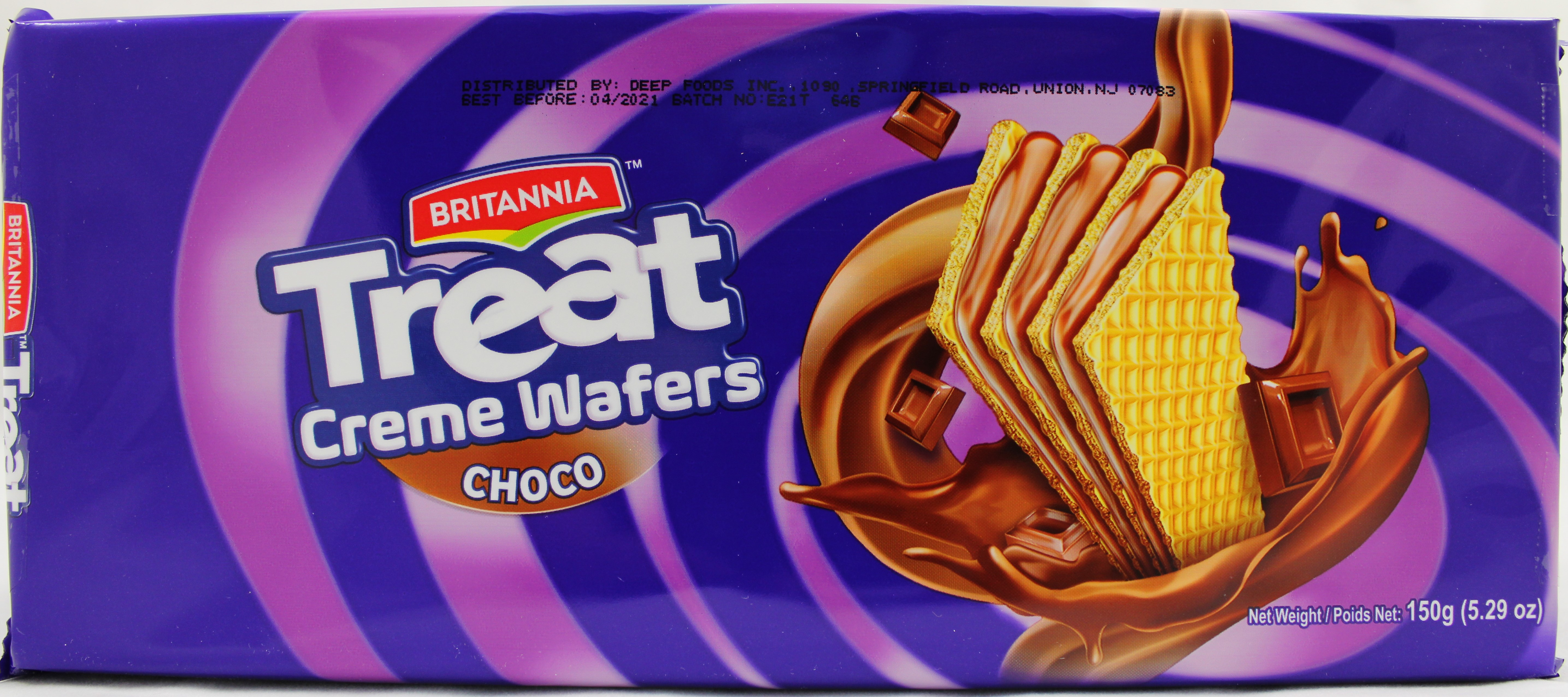 Treat Chocolate Creame Wafers5.29Oz