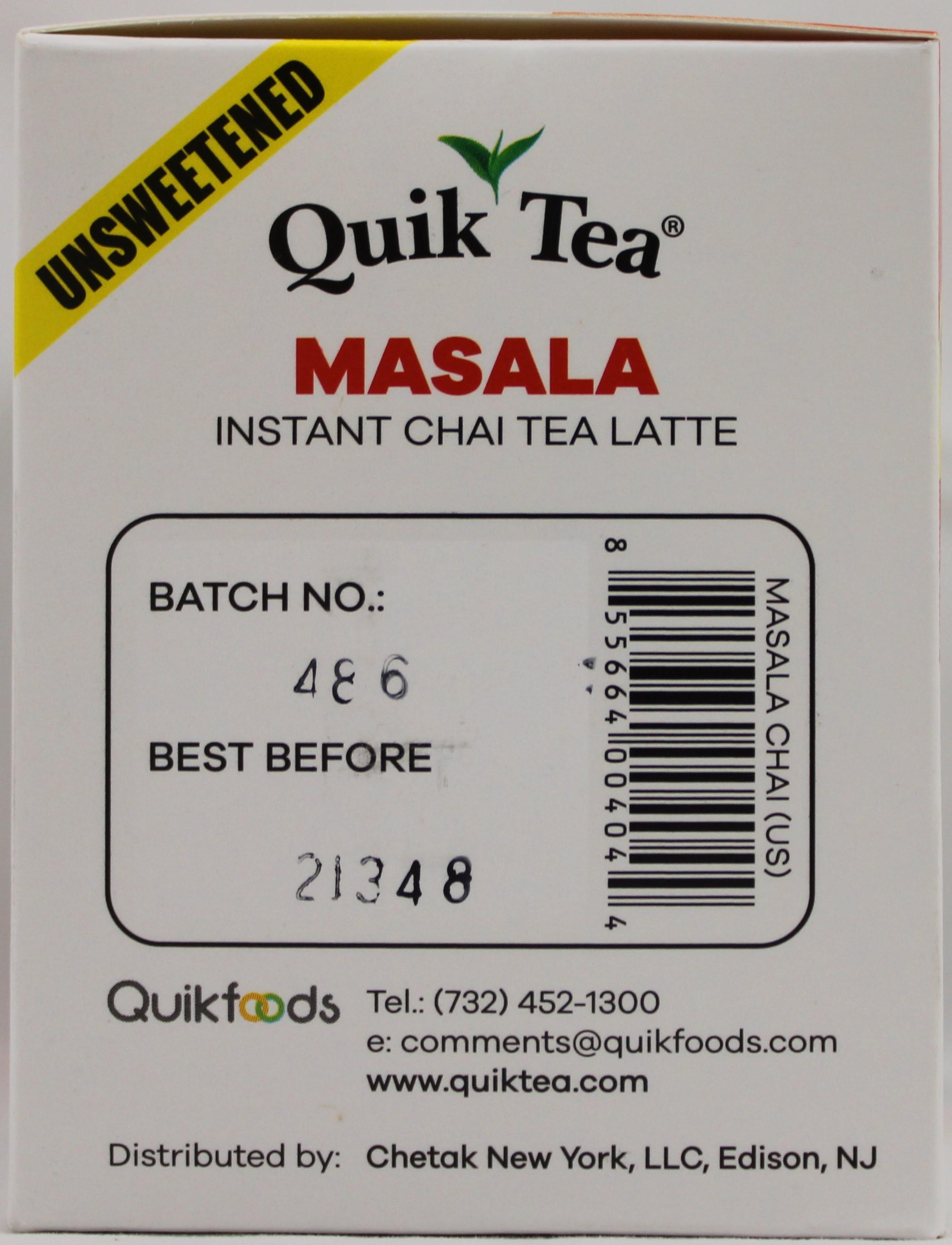 Masala Chai Unsweetened 5.64 oz.