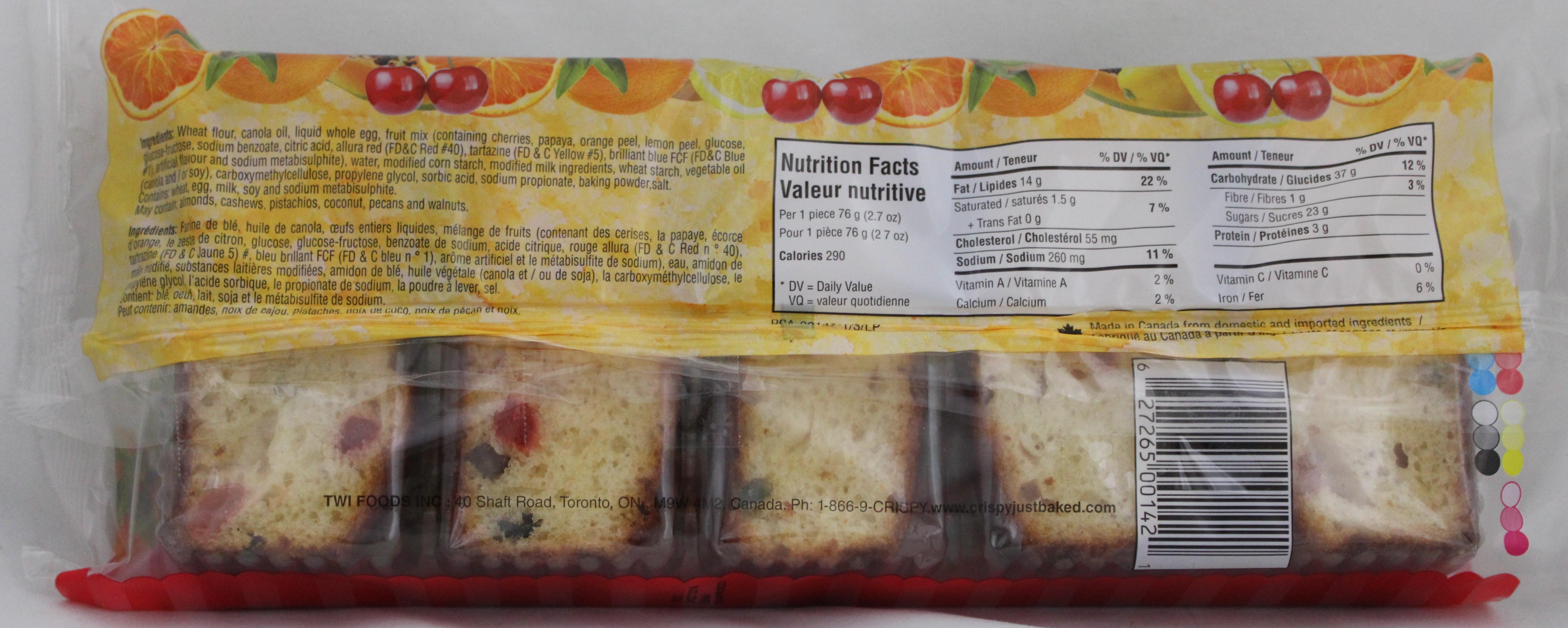 Fruit Cake 13.4oz