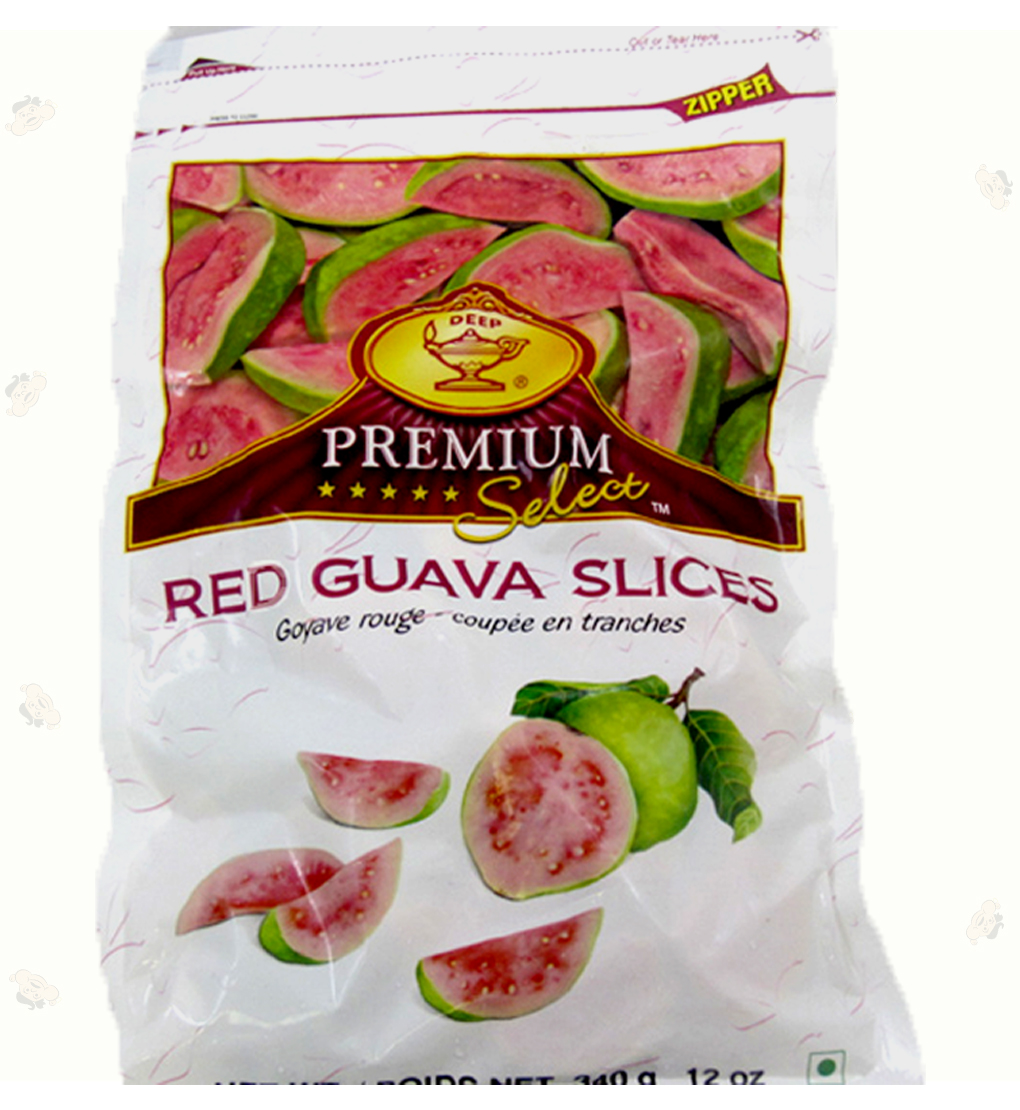 Red Guava Slices 12 oz