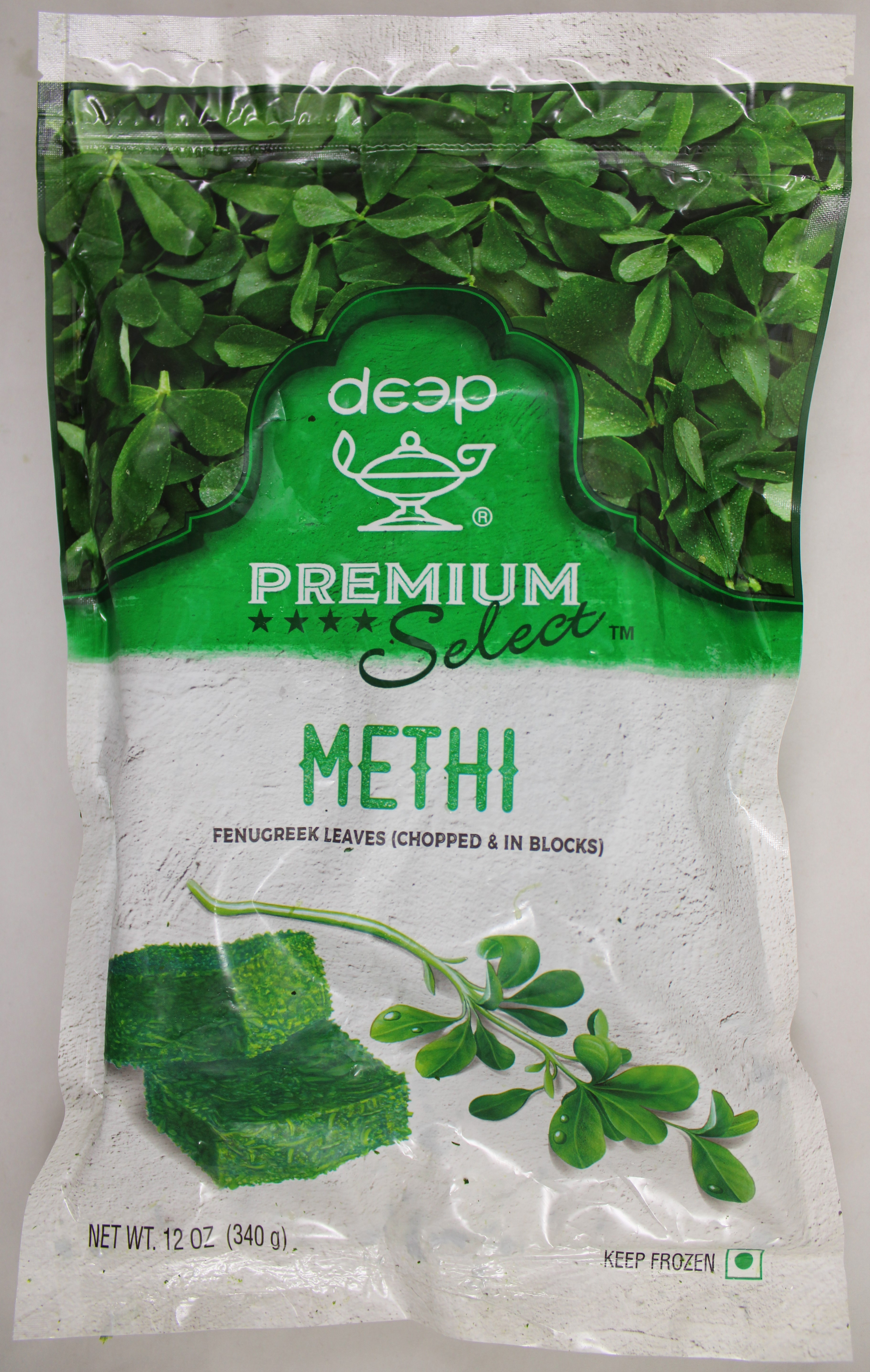 Methi (In Blocks) Frozen 12oz