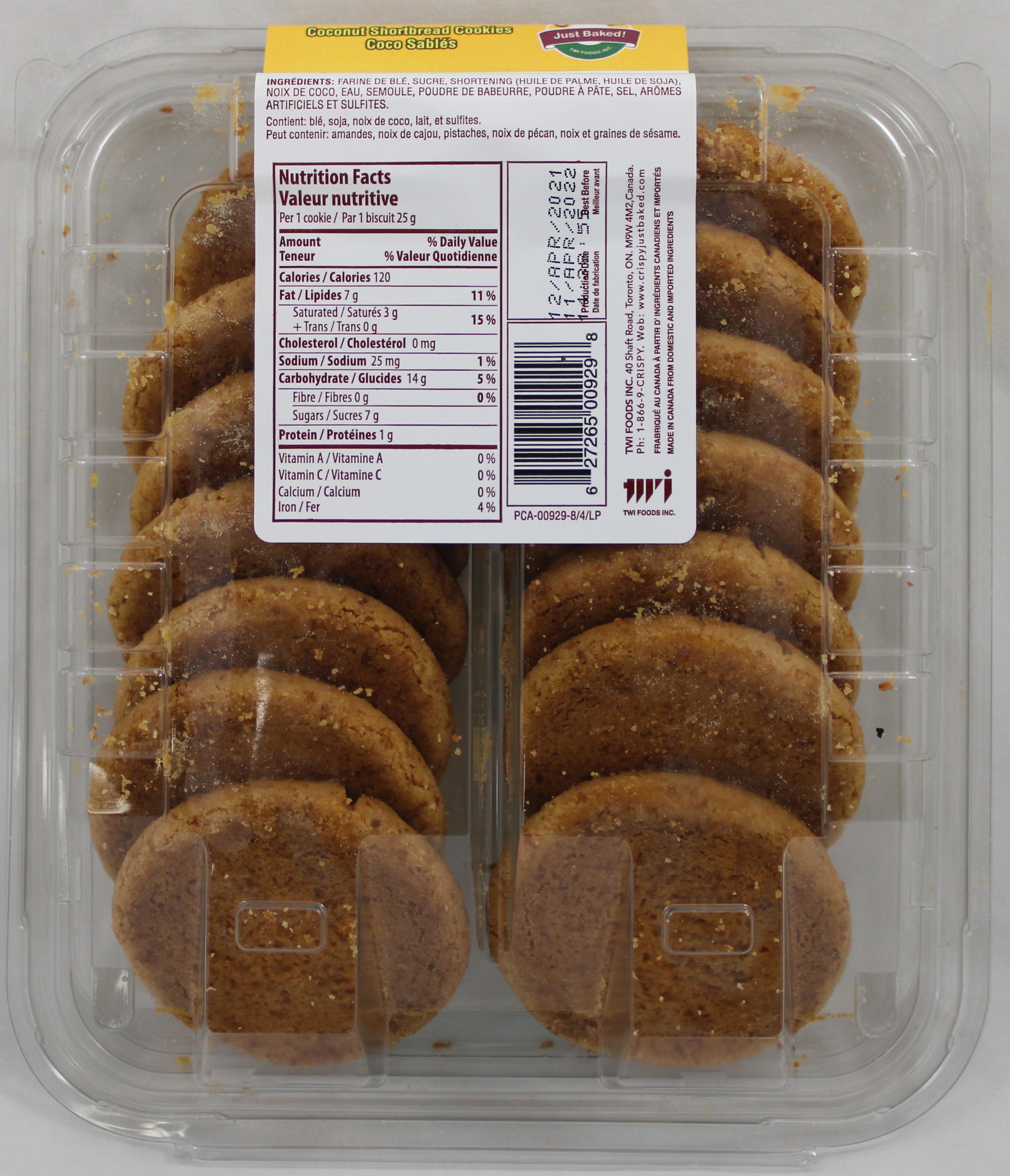 Coconut Cookies 12.3oz