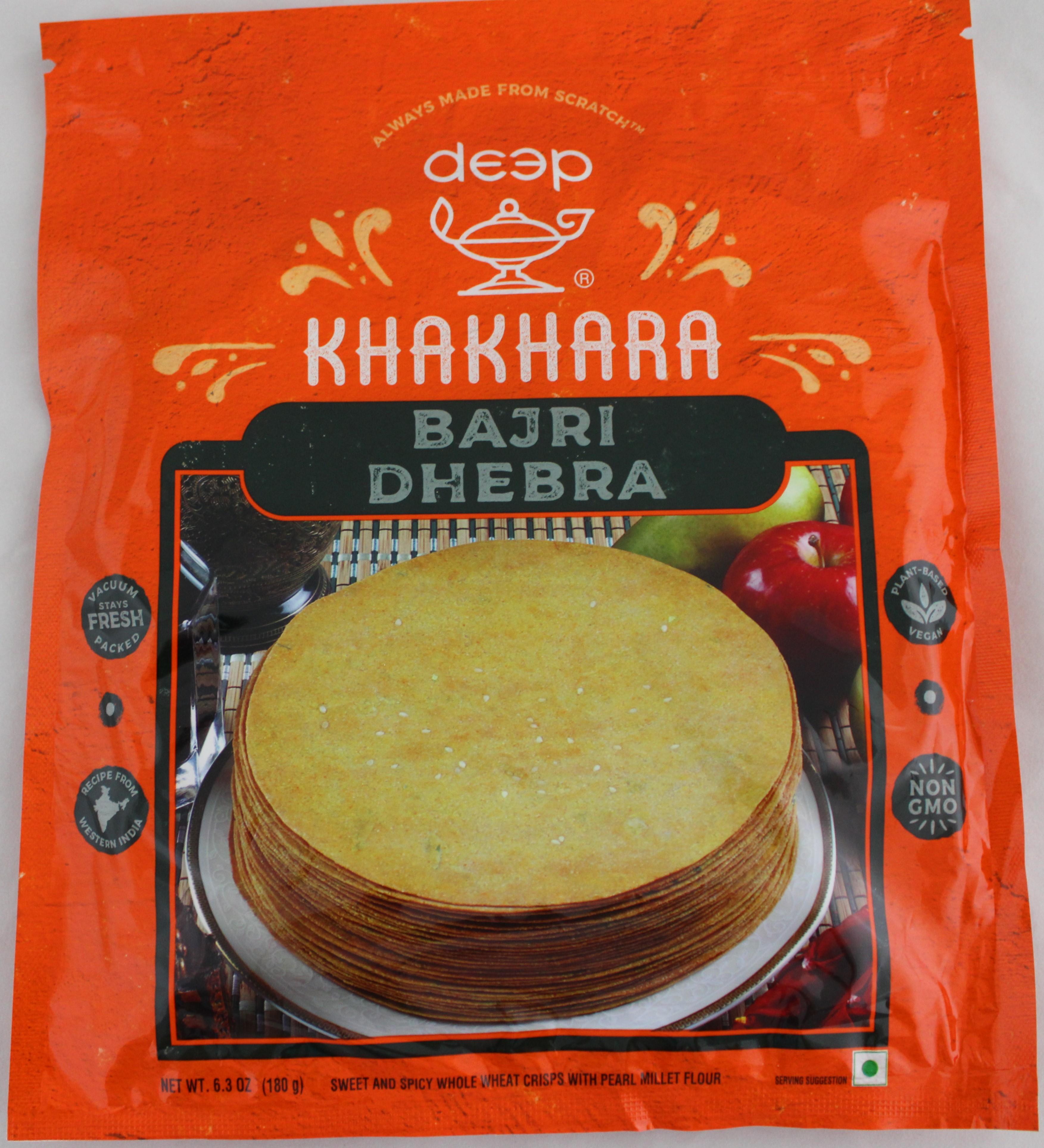 Bajri Dhebra Khakhra 6.3oz.