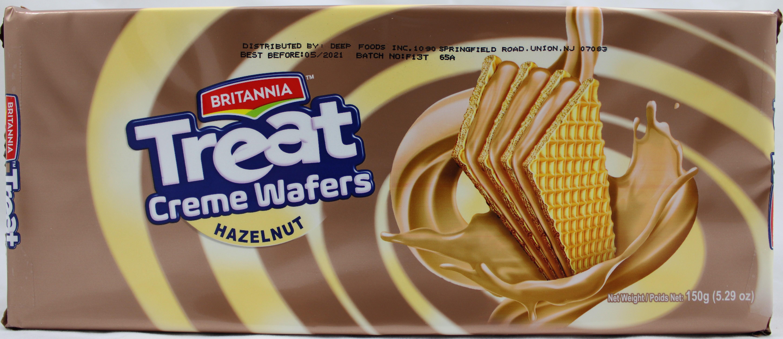 Treat Hazelnut Creame Wafers5.29OZ