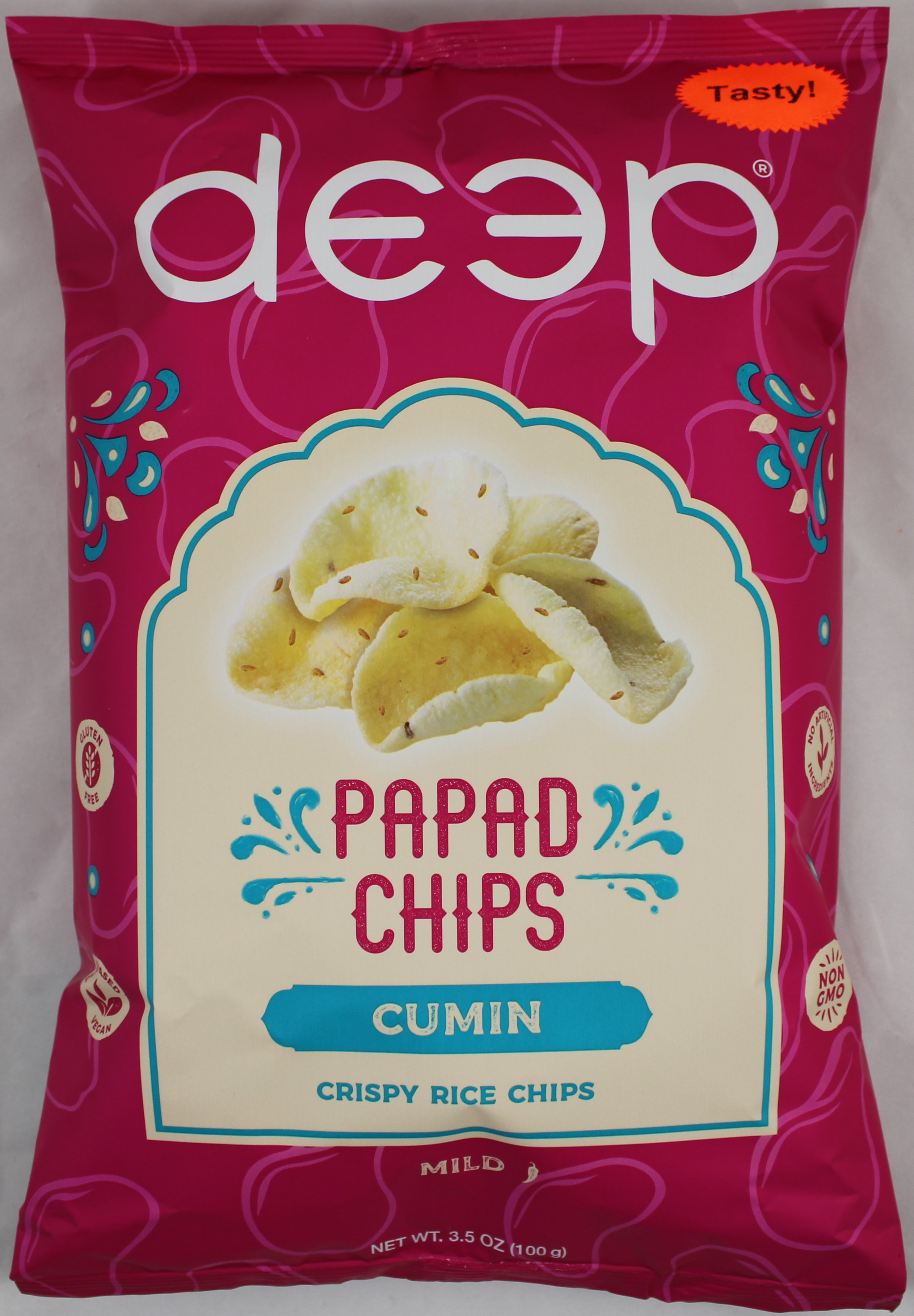 Cumin Papad Chips 3.5oz