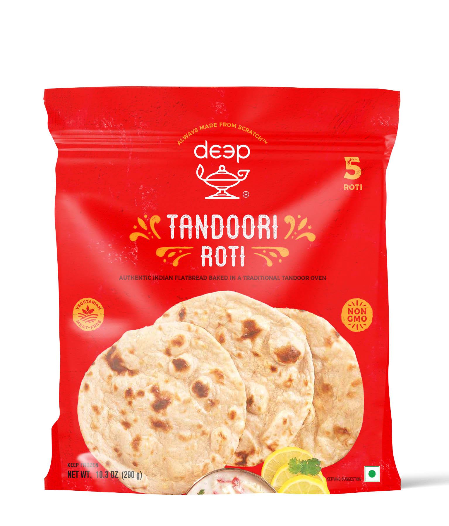 Indian Grocery - Clay Oven Tandoori Roti 5p-10.25oz