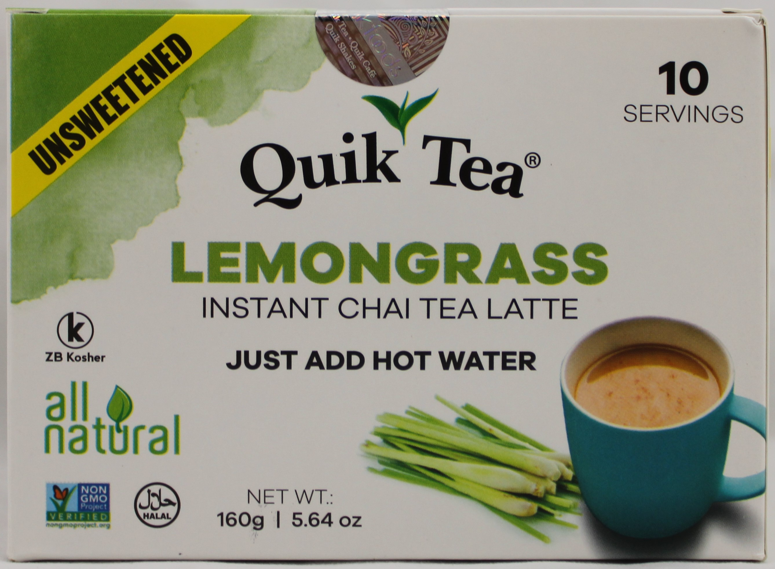 Unsweetened Lemongrass 5.64oz