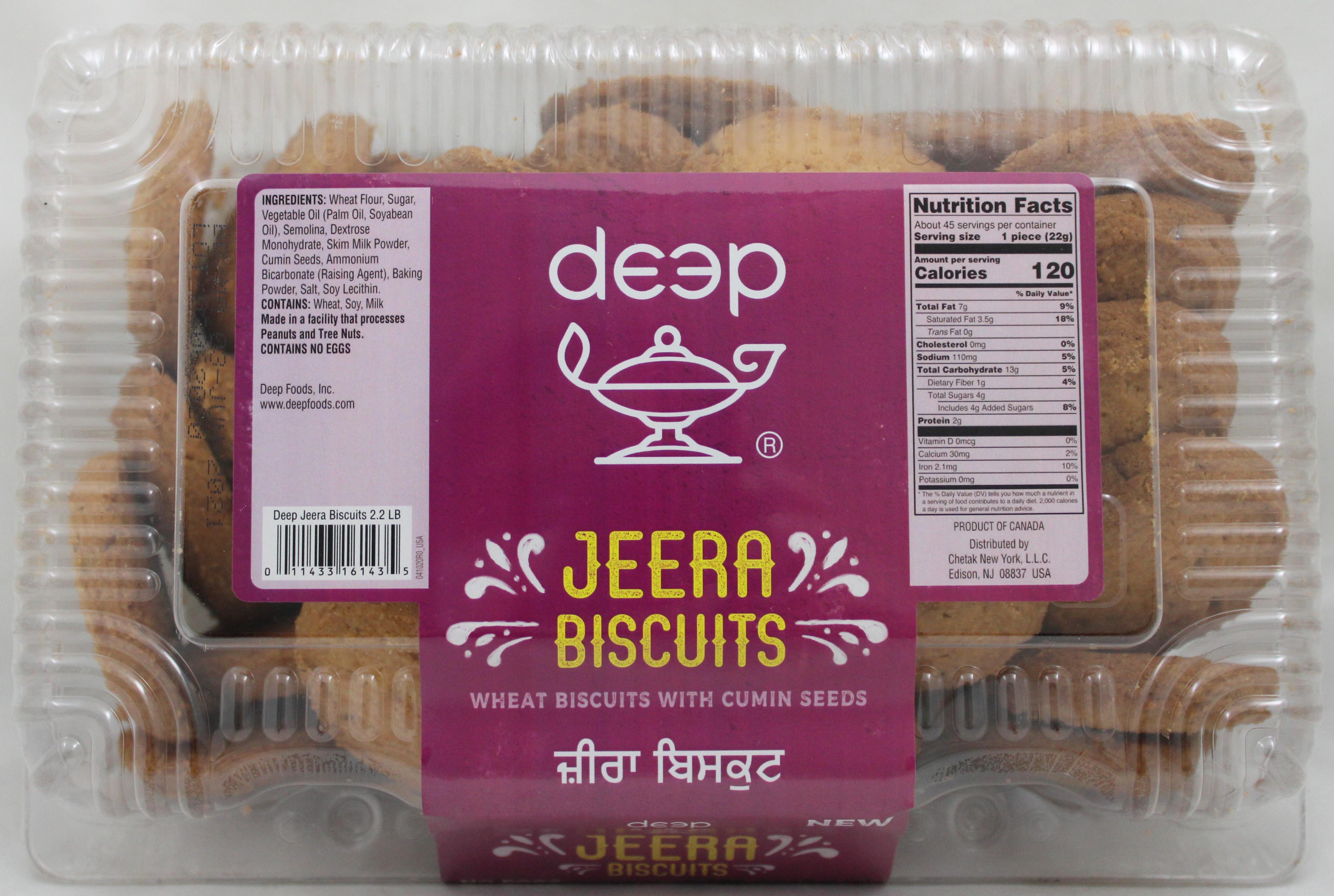 Jeera Biscuits 2.2Lb
