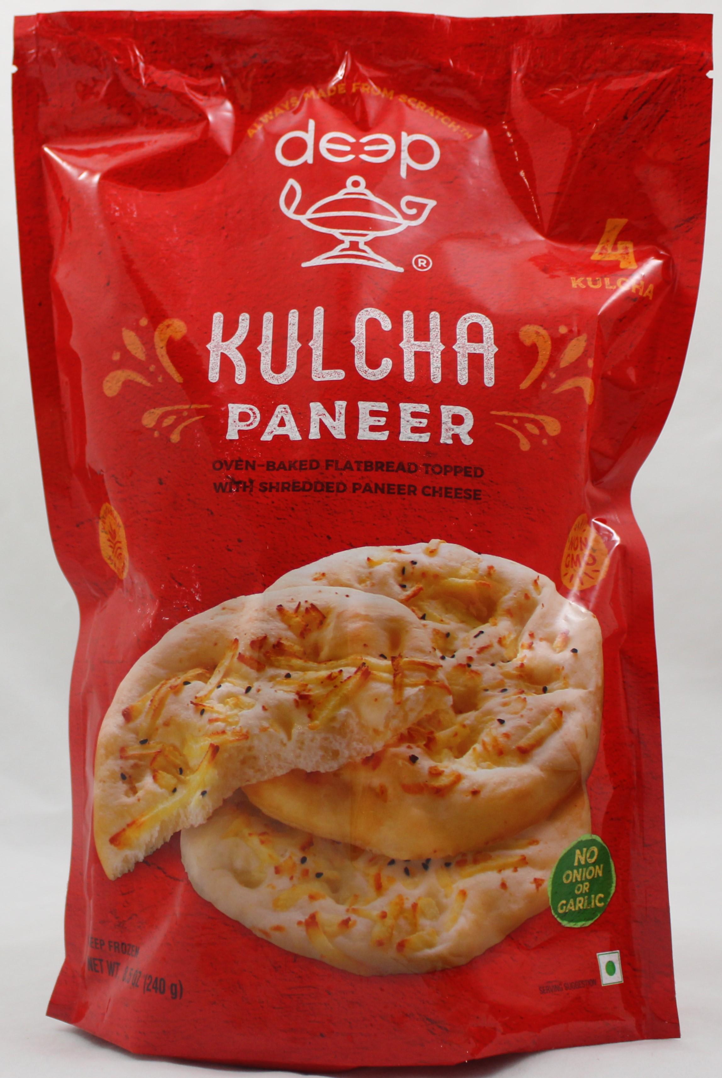 Paneer Kulcha 4 pcs