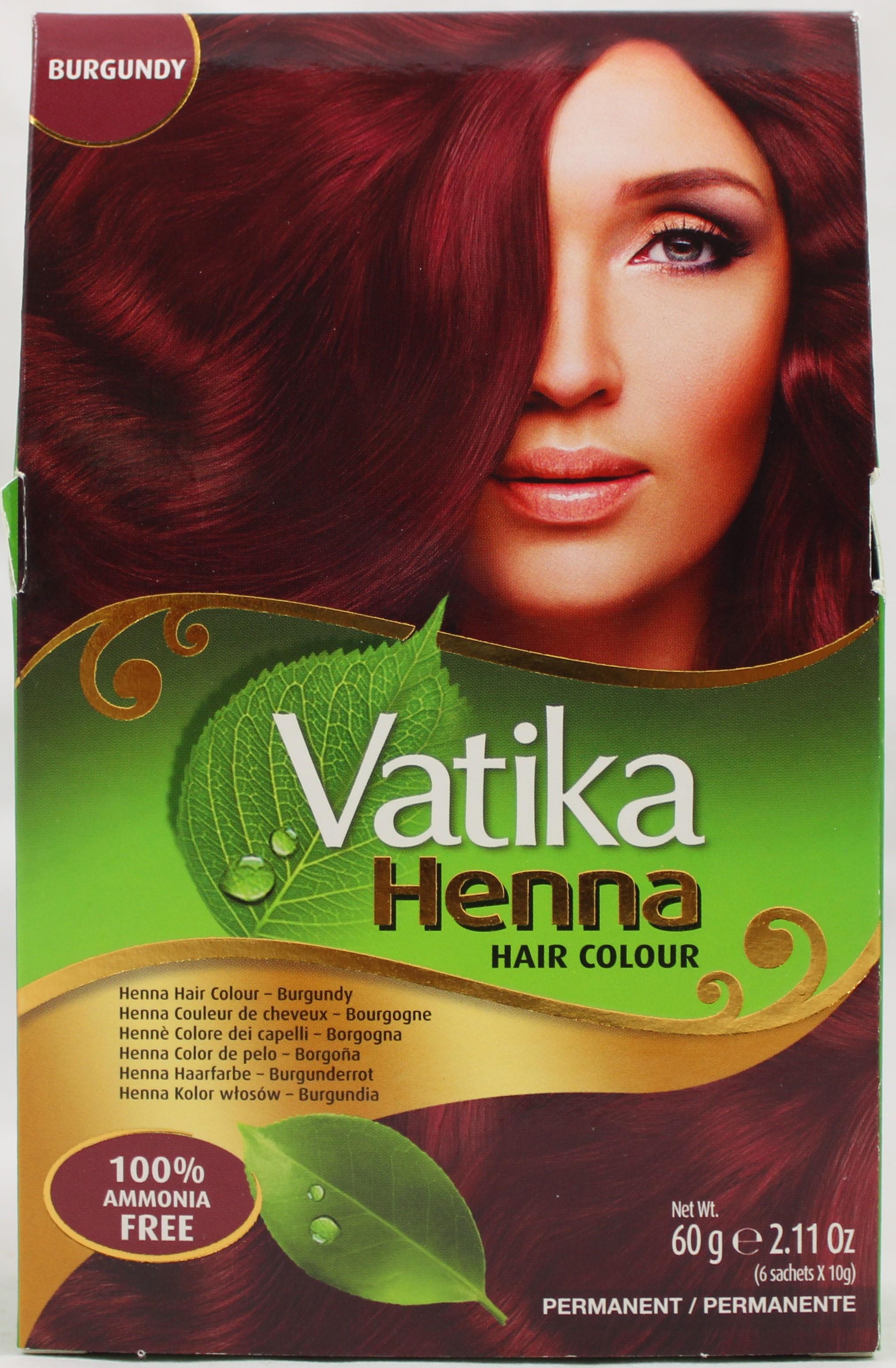 Vatika Hair Colour Burgundy 2.1oz