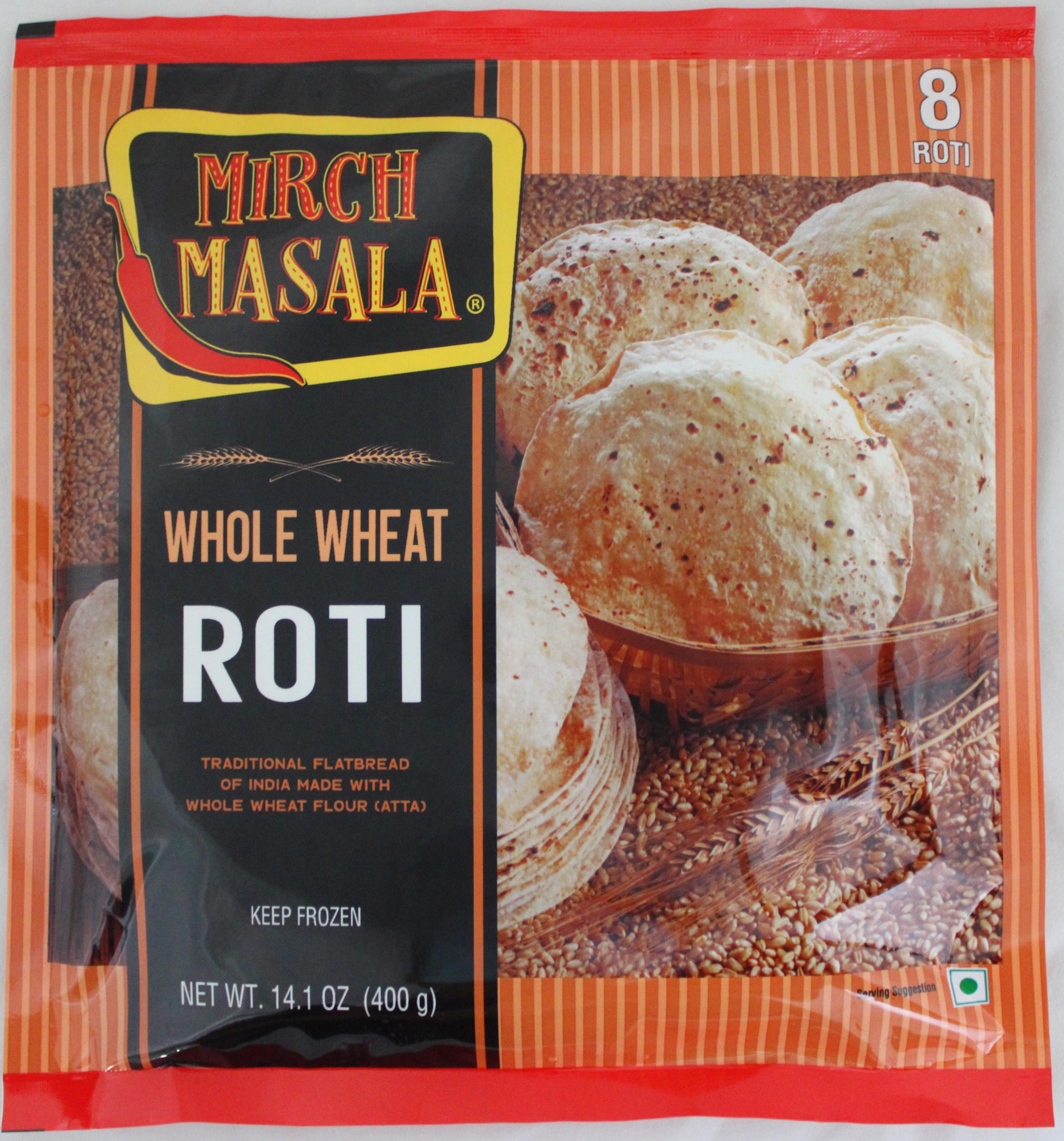 Whole Wheat Roti 8 pcs