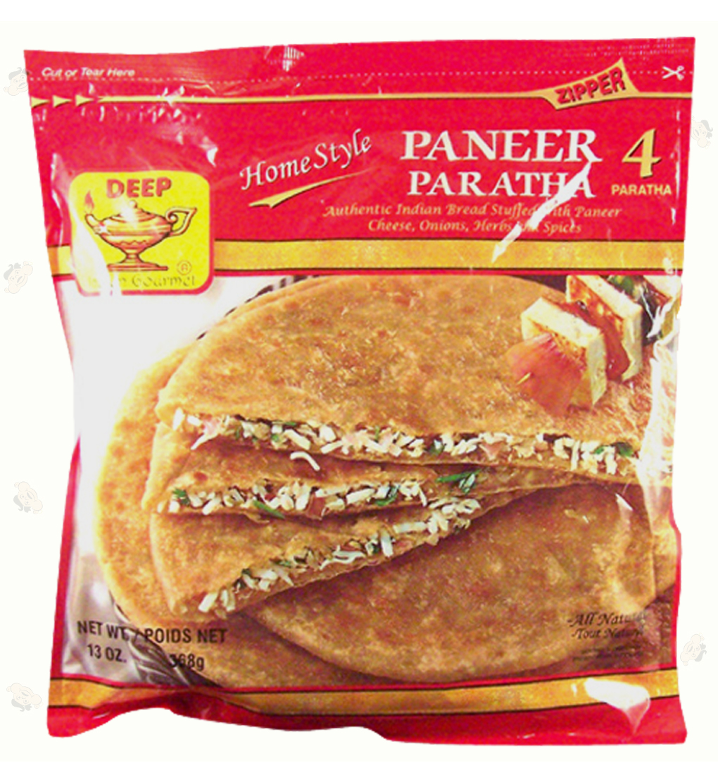 Indian Grocery - Paneer Paratha 4pc