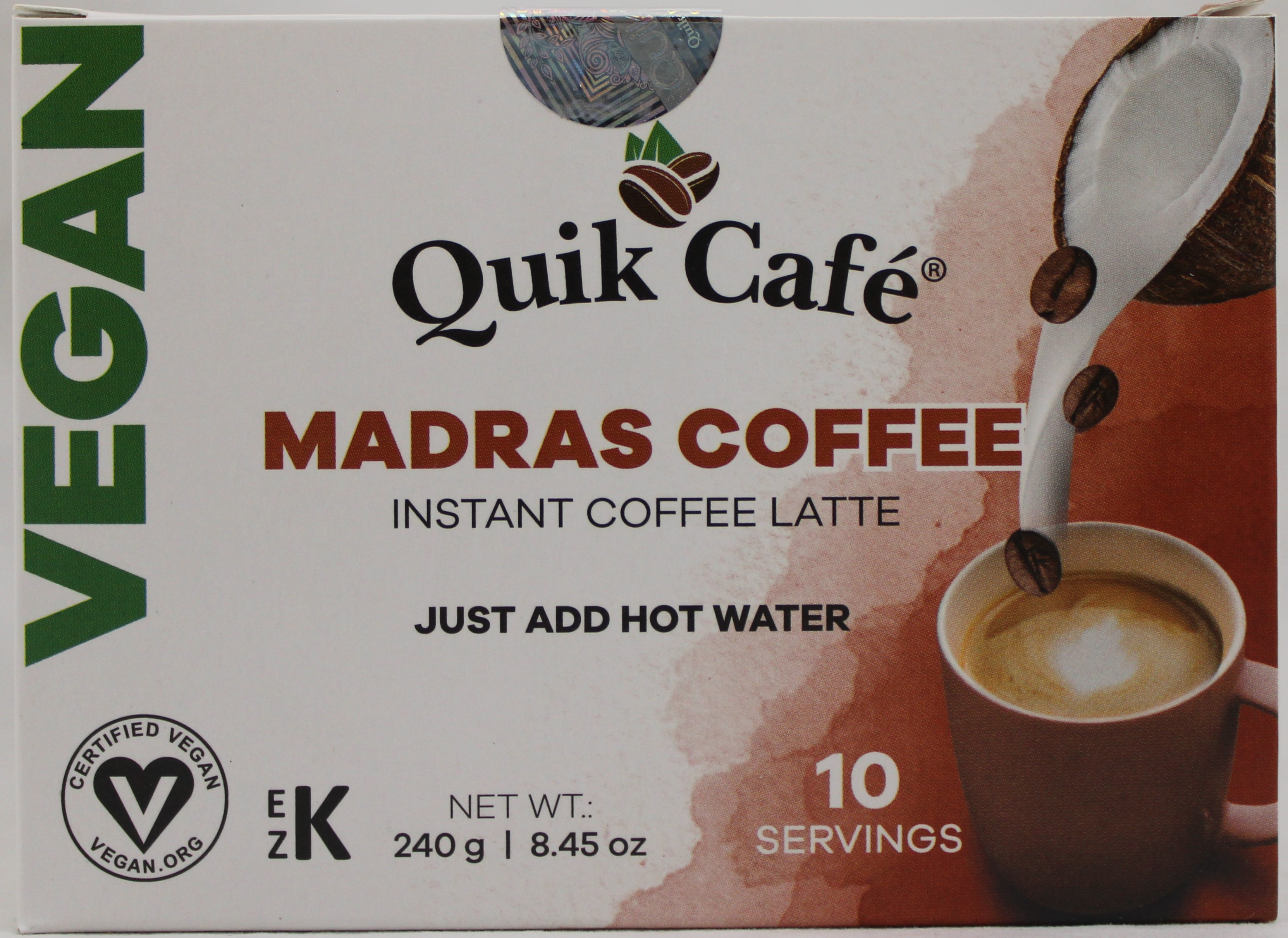 Vegan Madras Coffee 8.5oz